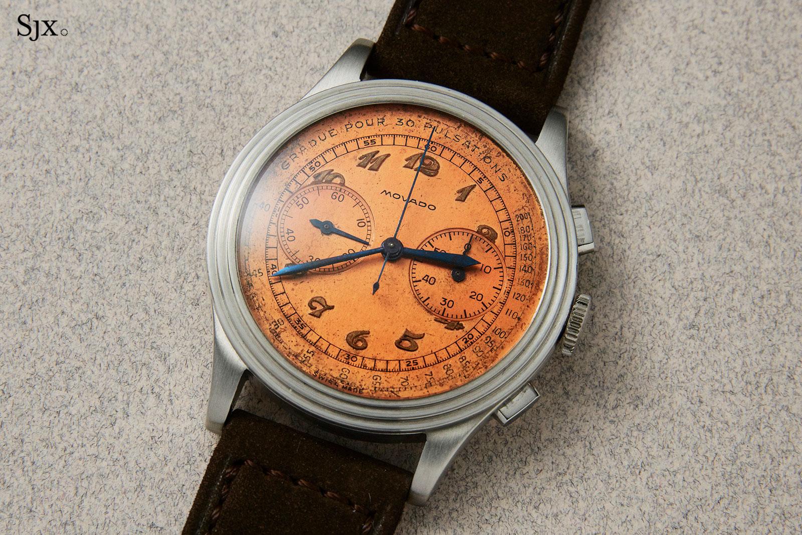 Movado chronograph ref. 19005-2