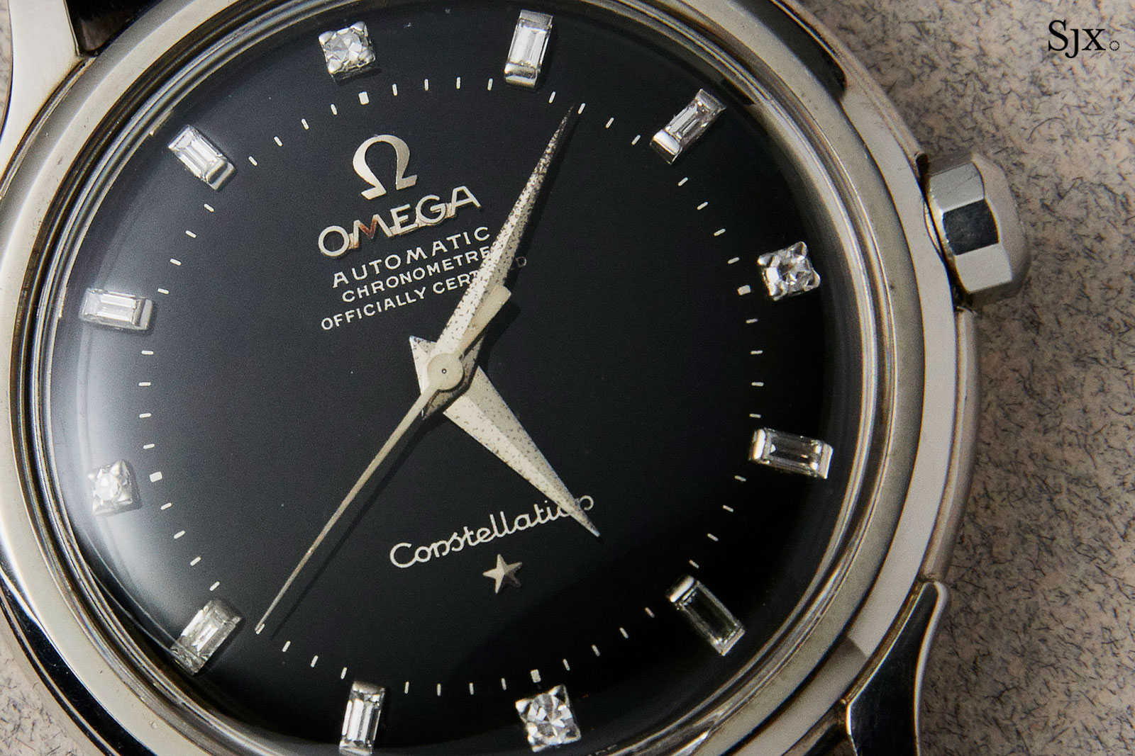 Omega Constellation 2782 white gold 1