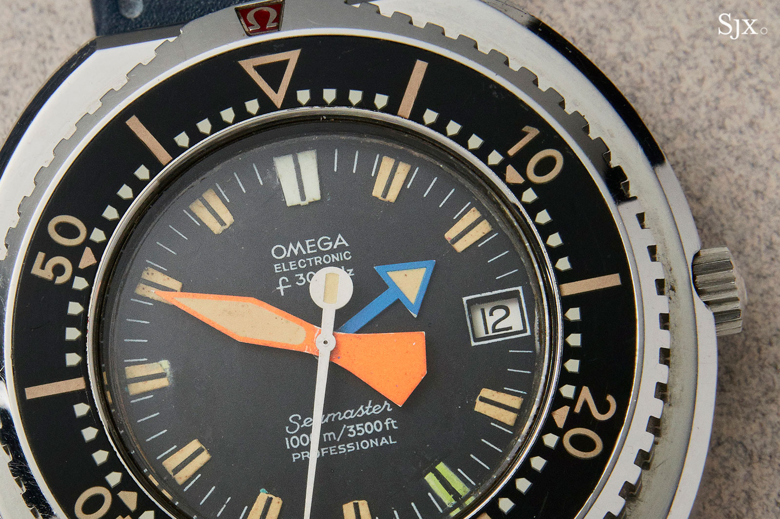 Omega Seamaster 1000m prototype electronic 1