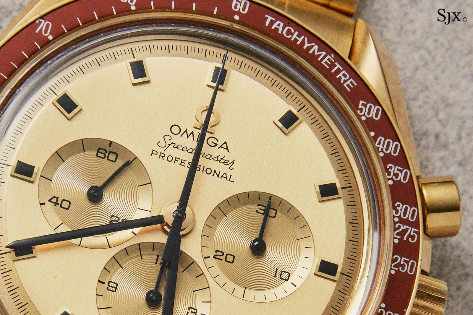 Omega Speedmaster 145.022 18k gold 1
