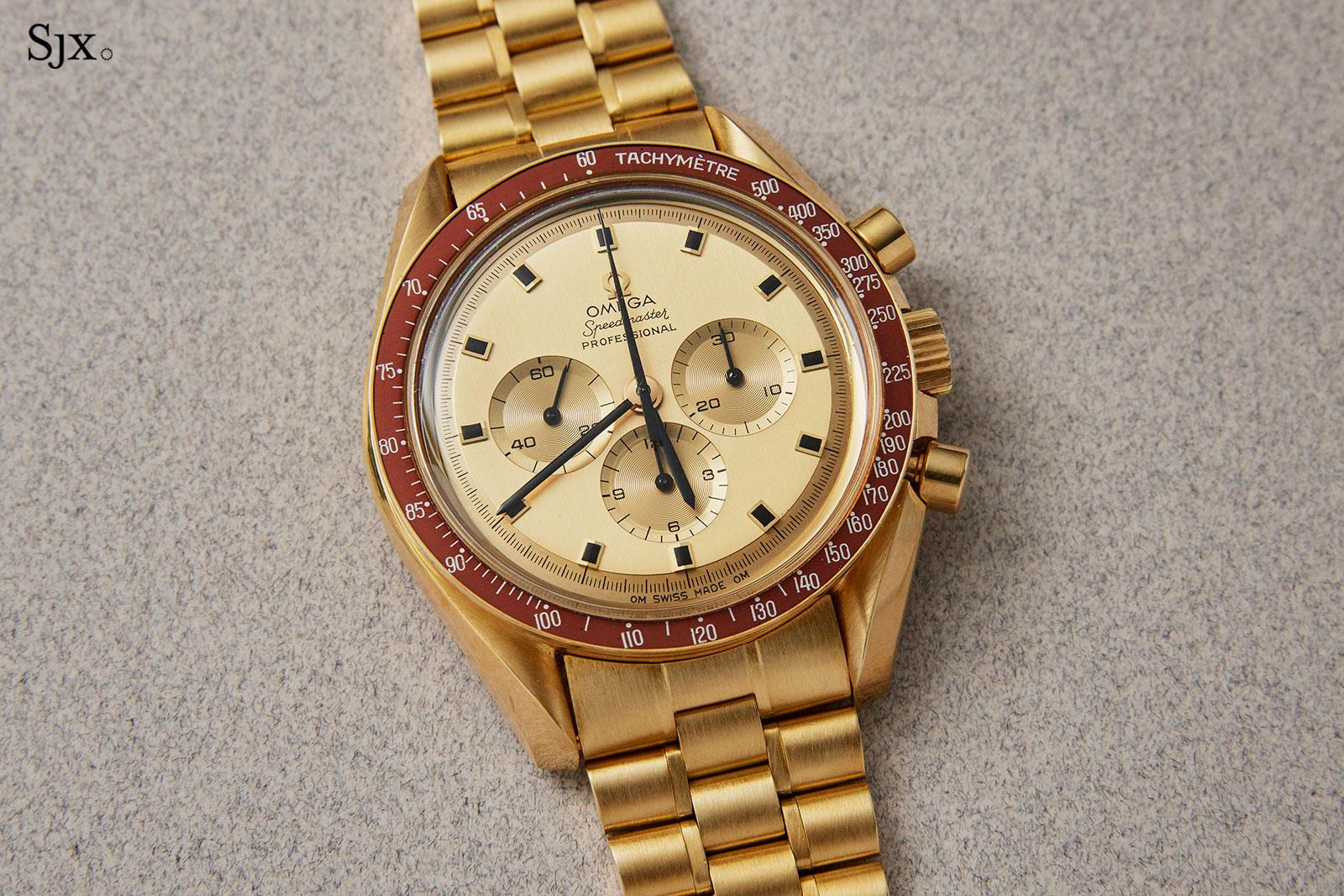 Omega Speedmaster 145.022 18k gold 2