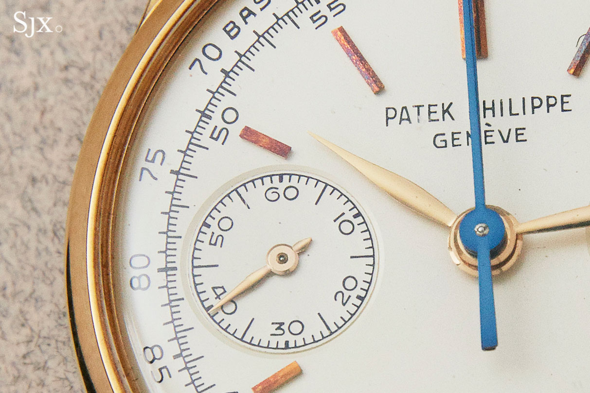 Patek 1436 split seconds chronograph co-axial 1
