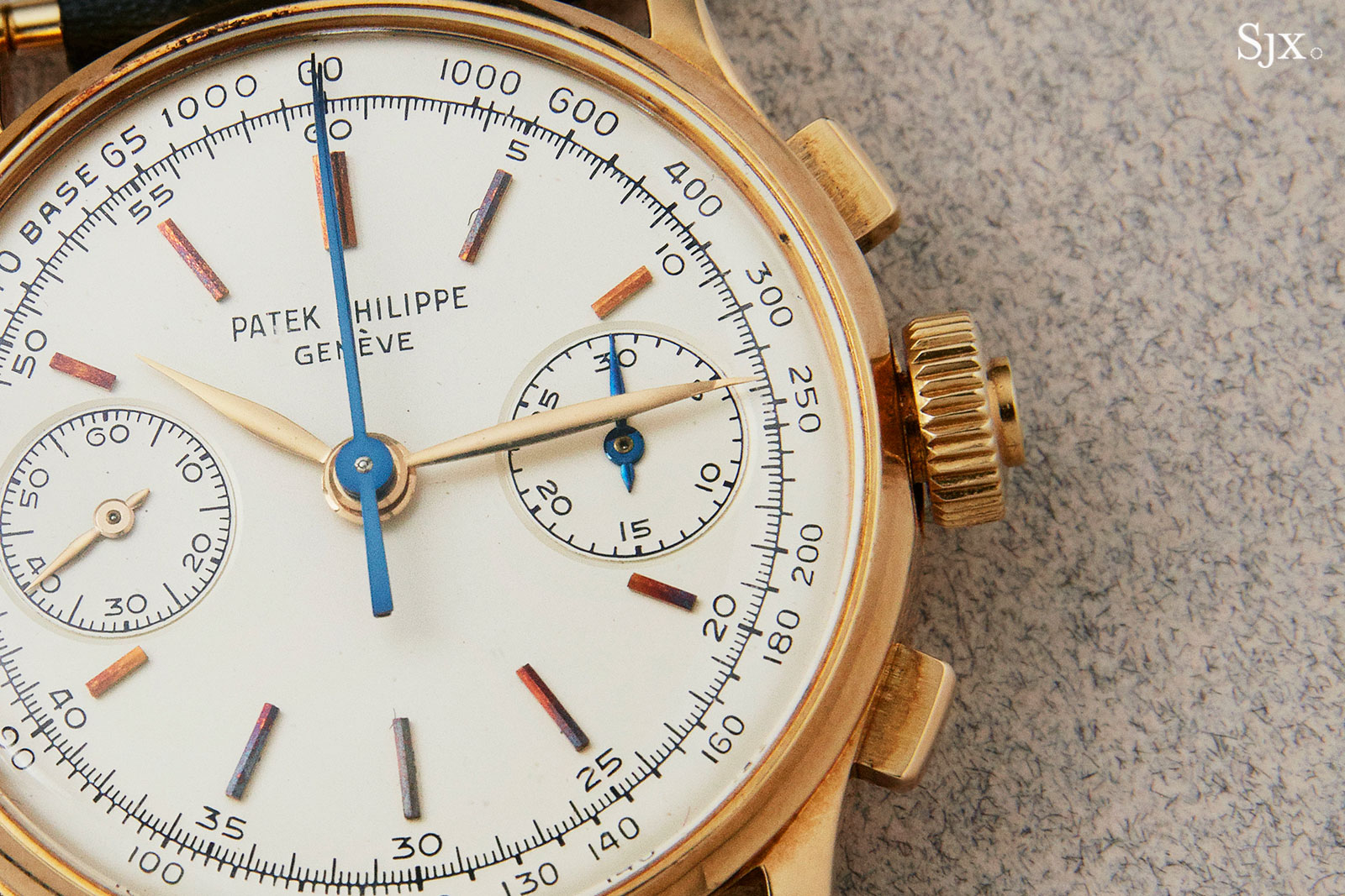 Patek 1436 split seconds chronograph co-axial 2