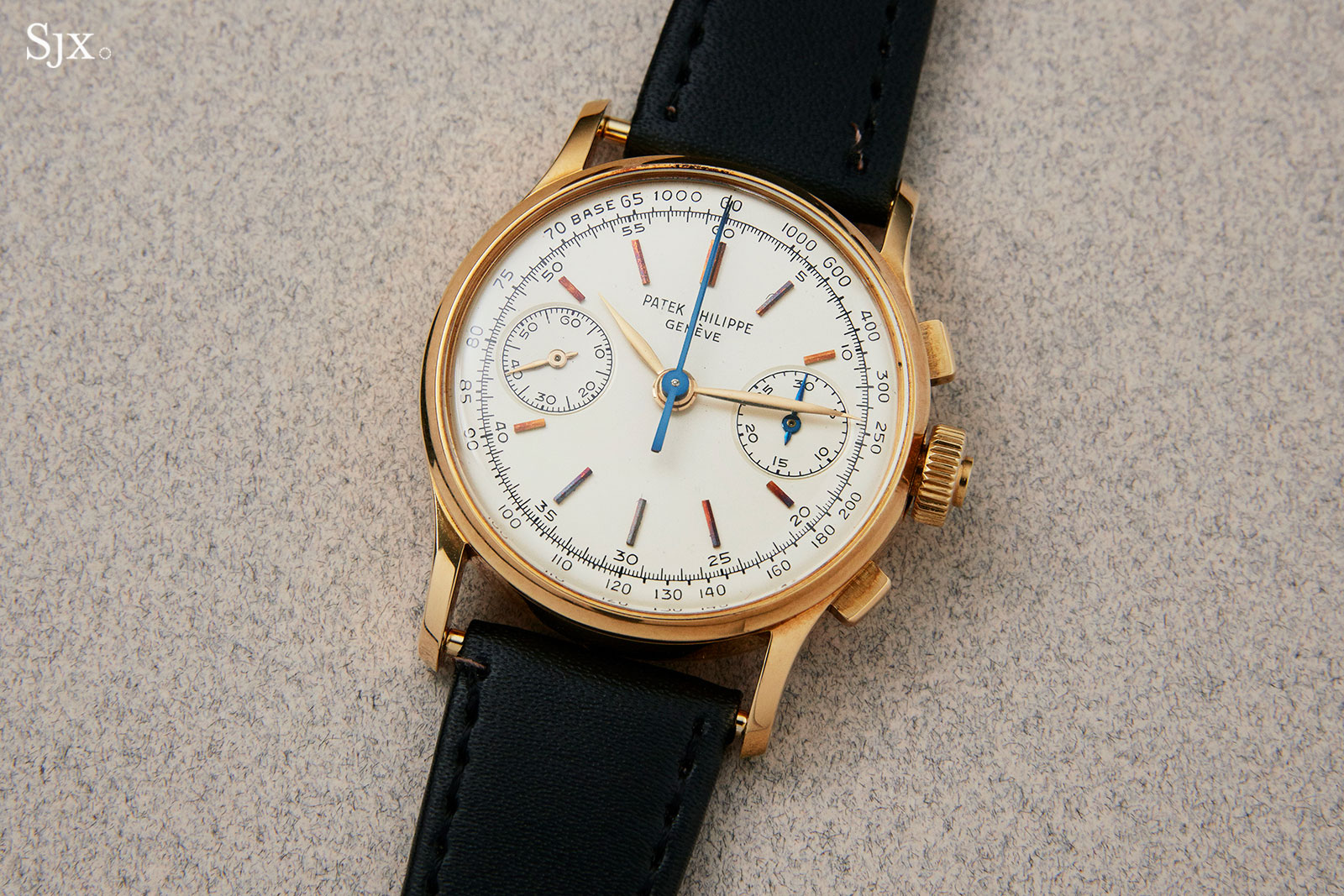 Patek 1436 split seconds chronograph co-axial 3
