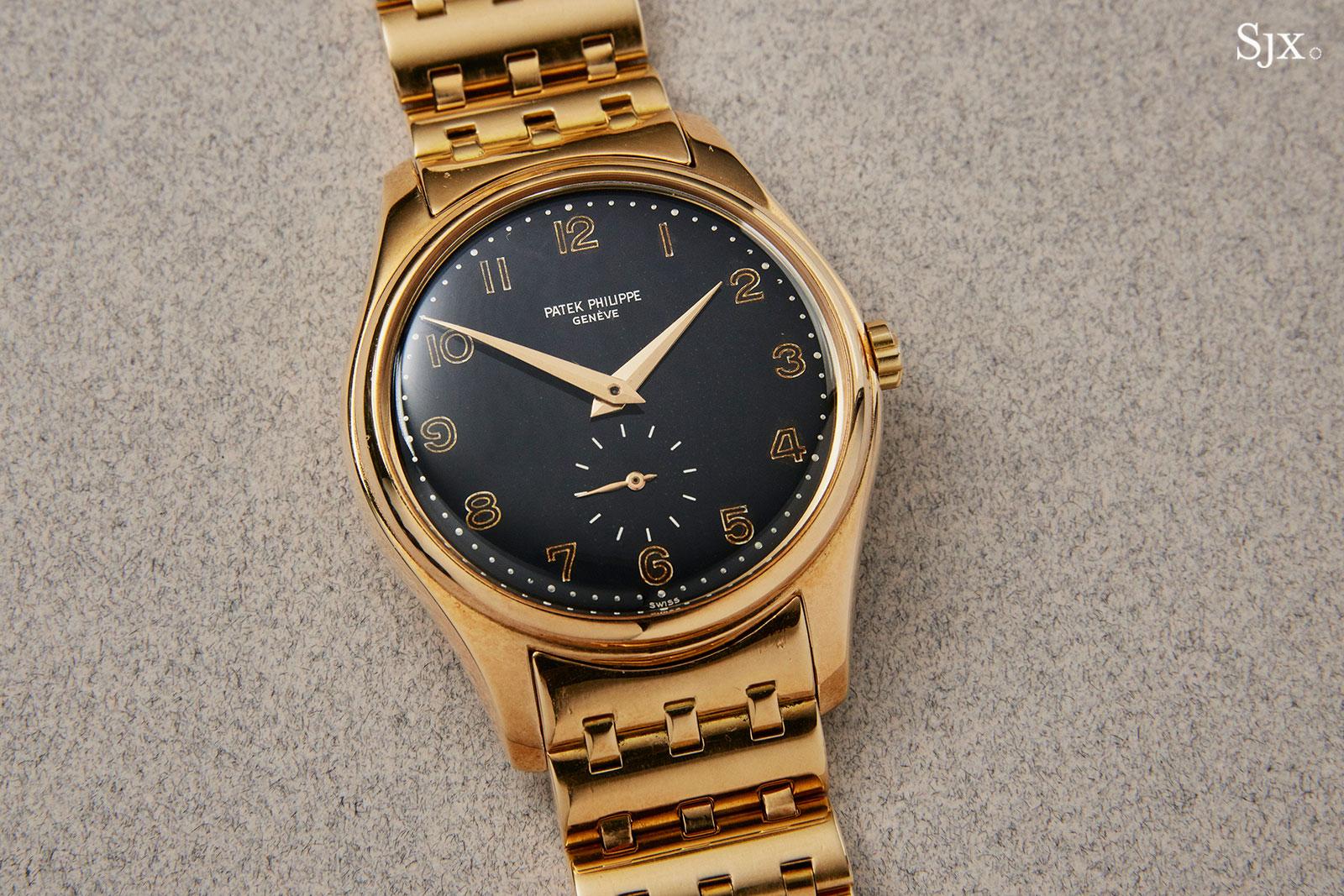 Patek 2526 black dial arabics 2