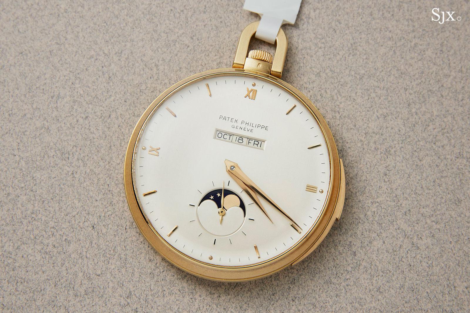Patek 699 pocket watch straight-line calendar 2