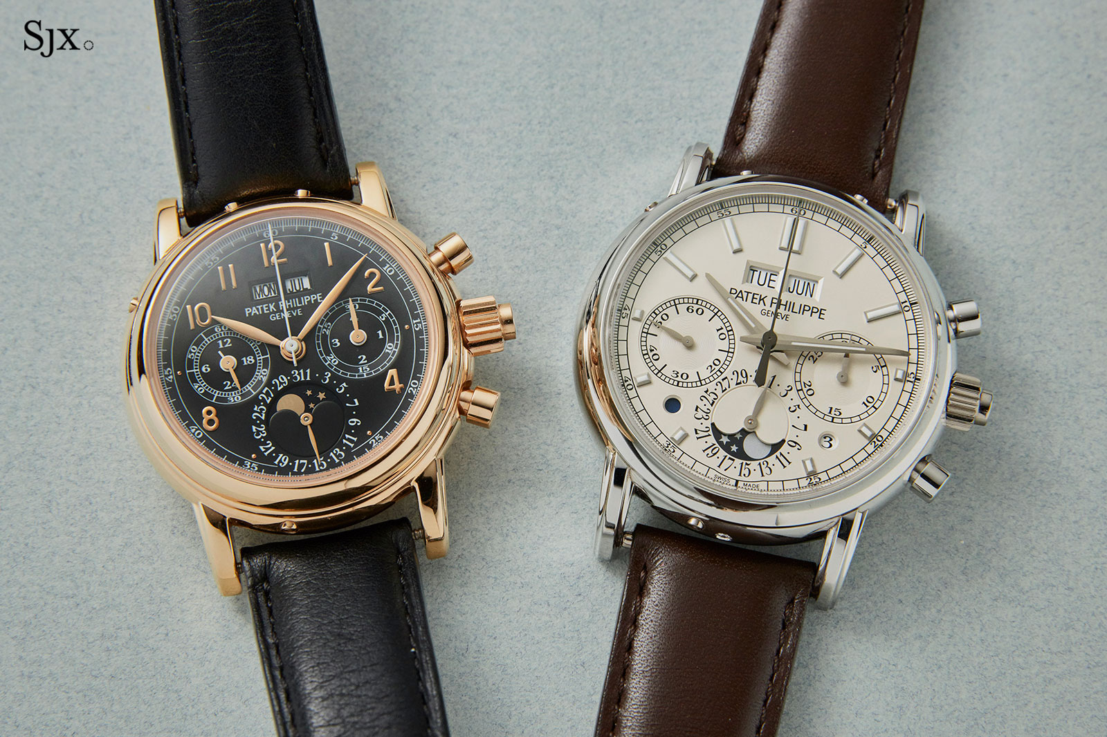 Patek Philippe 5004R and 5204P-1
