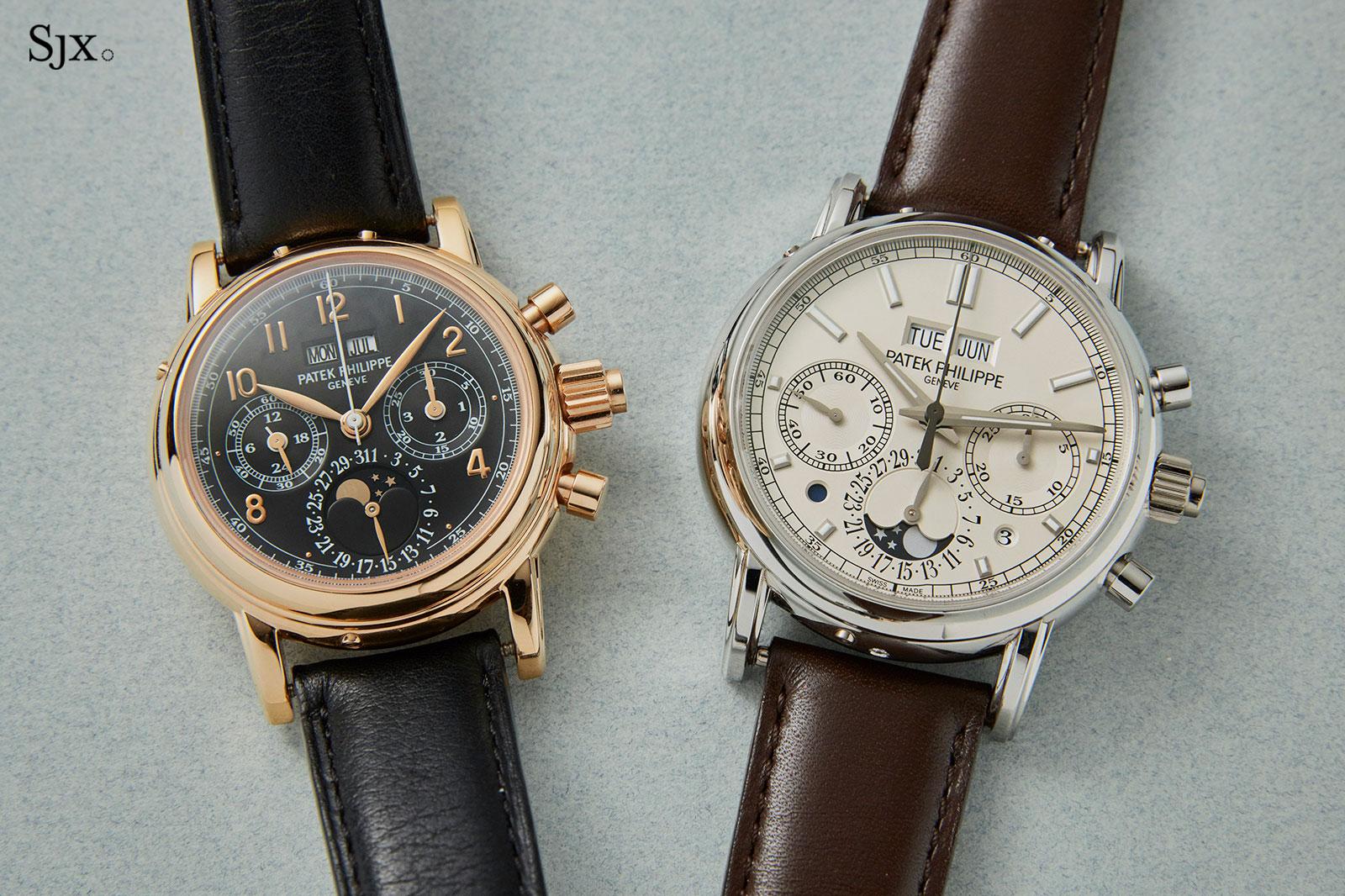 Patek Philippe 5004R and 5204P-1