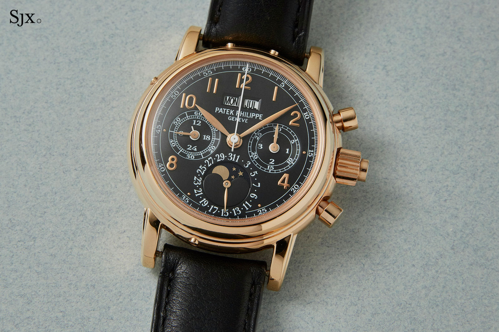 Patek Philippe 5004R black dial Christies 1
