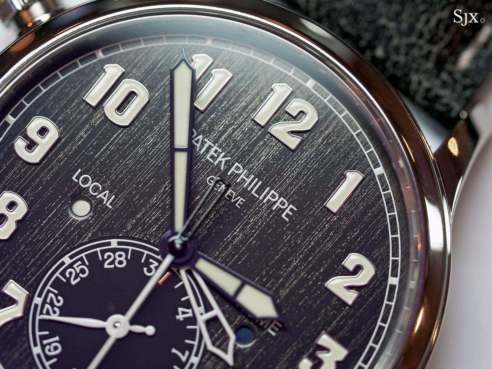 Patek Philippe Calatrava Pilot Travel Time Titanium 5524T-8
