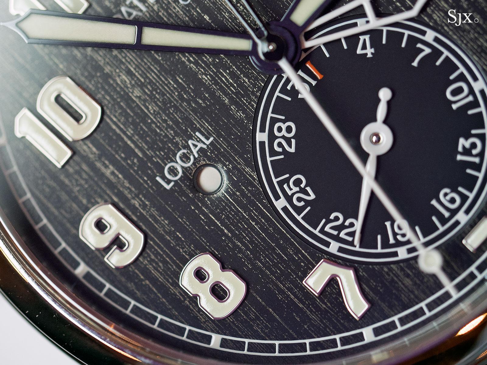 Patek Philippe Calatrava Pilot Travel Time Titanium 5524T-9