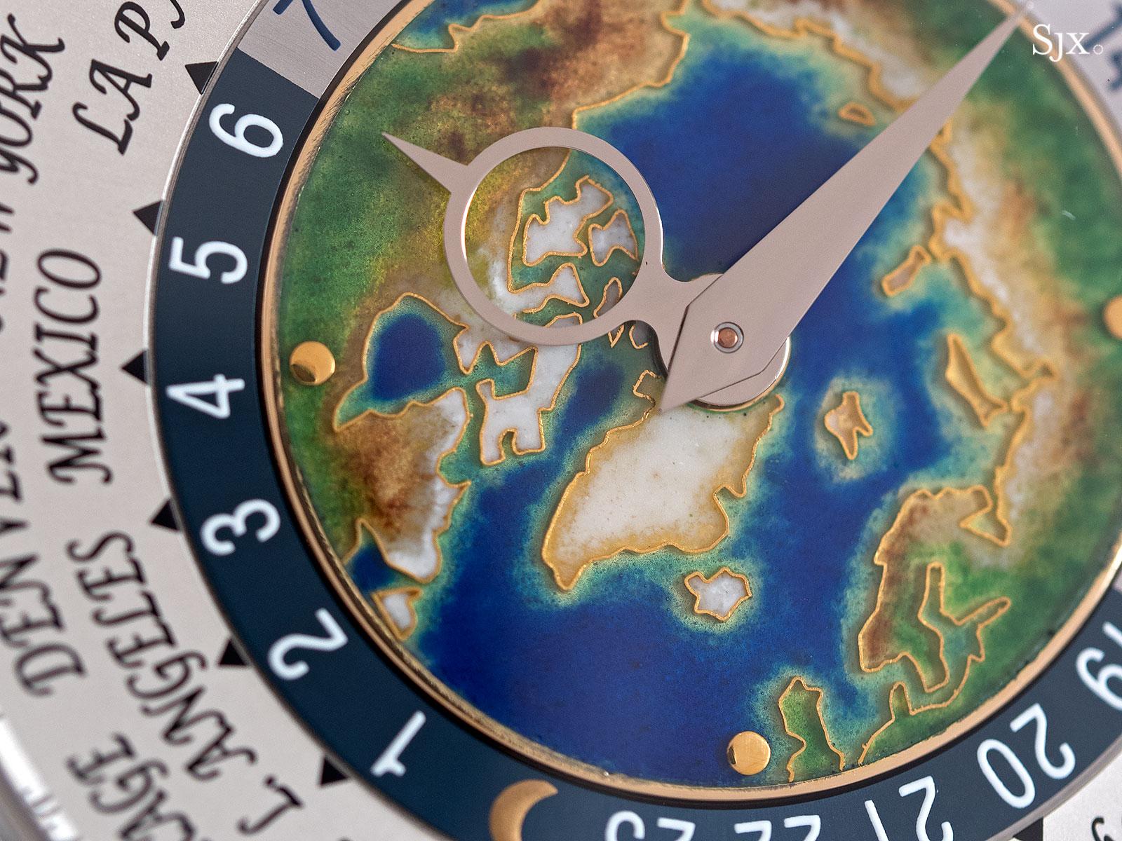 Patek Philippe world time 5131-1P platinum 4