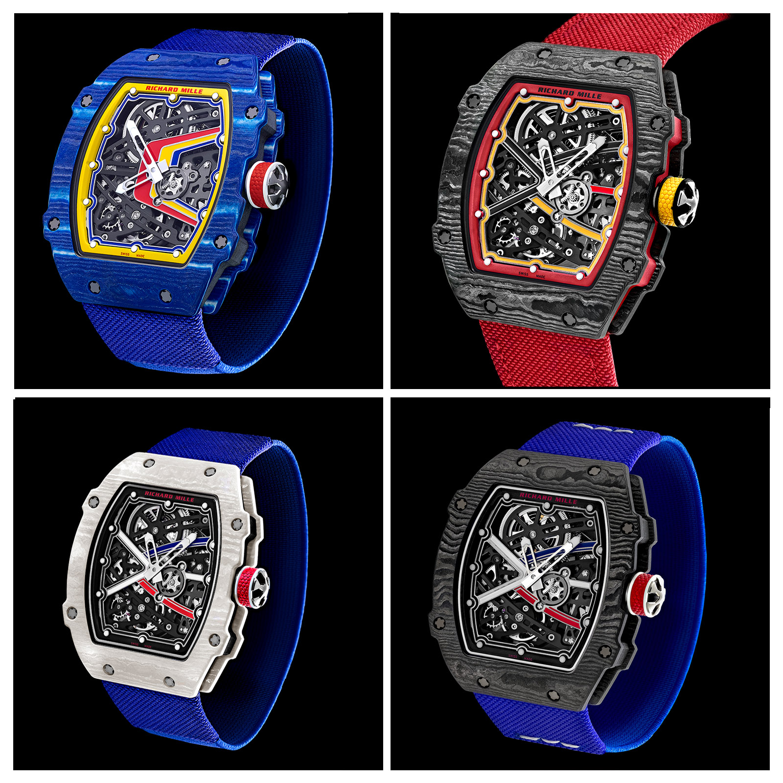 Richard Mille Introduces The RM 67 02 U2013 In Four New