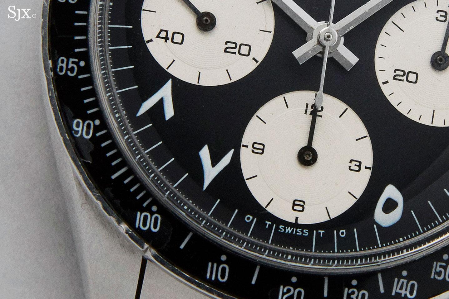 Rolex Daytona 6263 Arabic Indic numerals 2