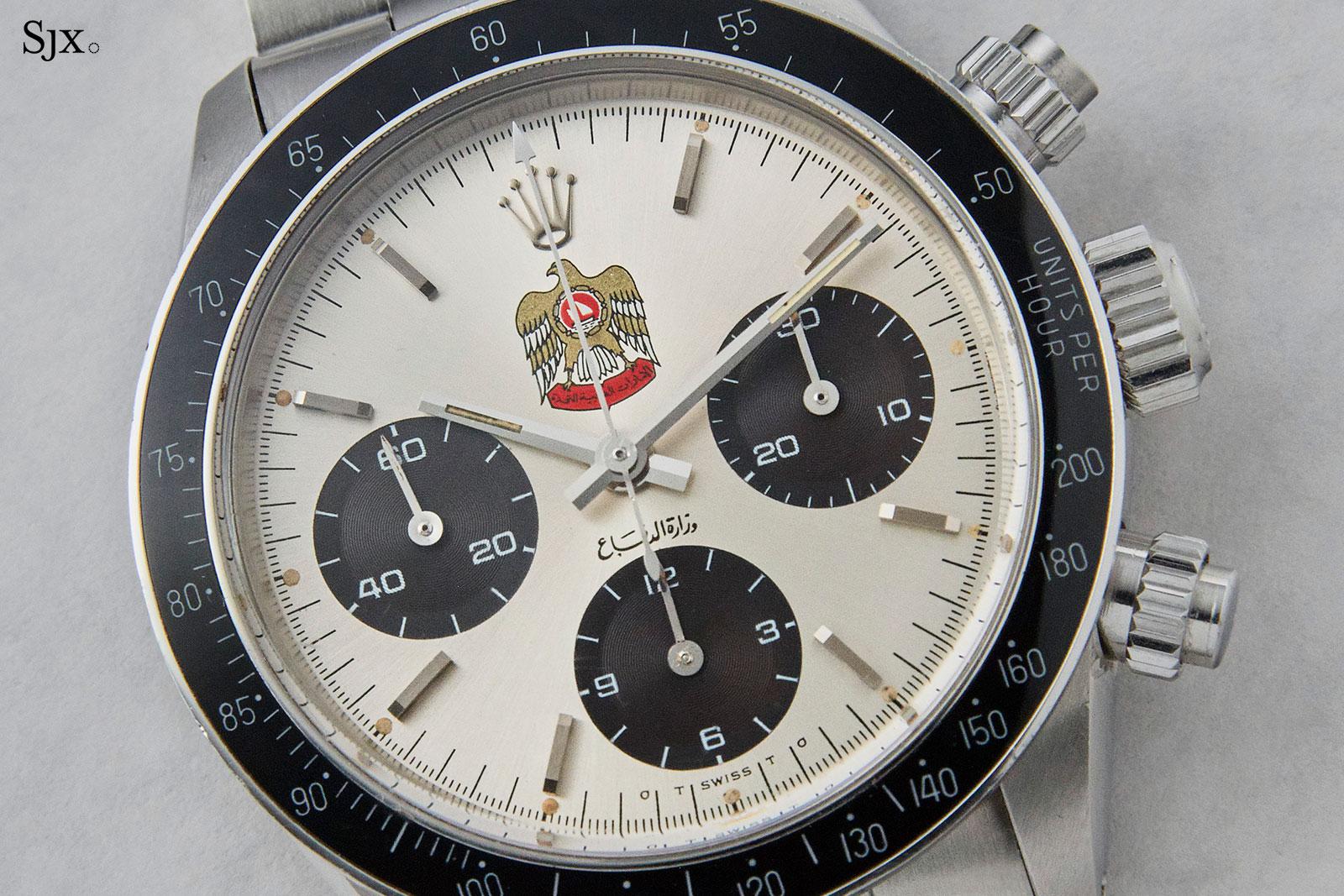 Rolex Daytona 6263 UAE Hawk 1