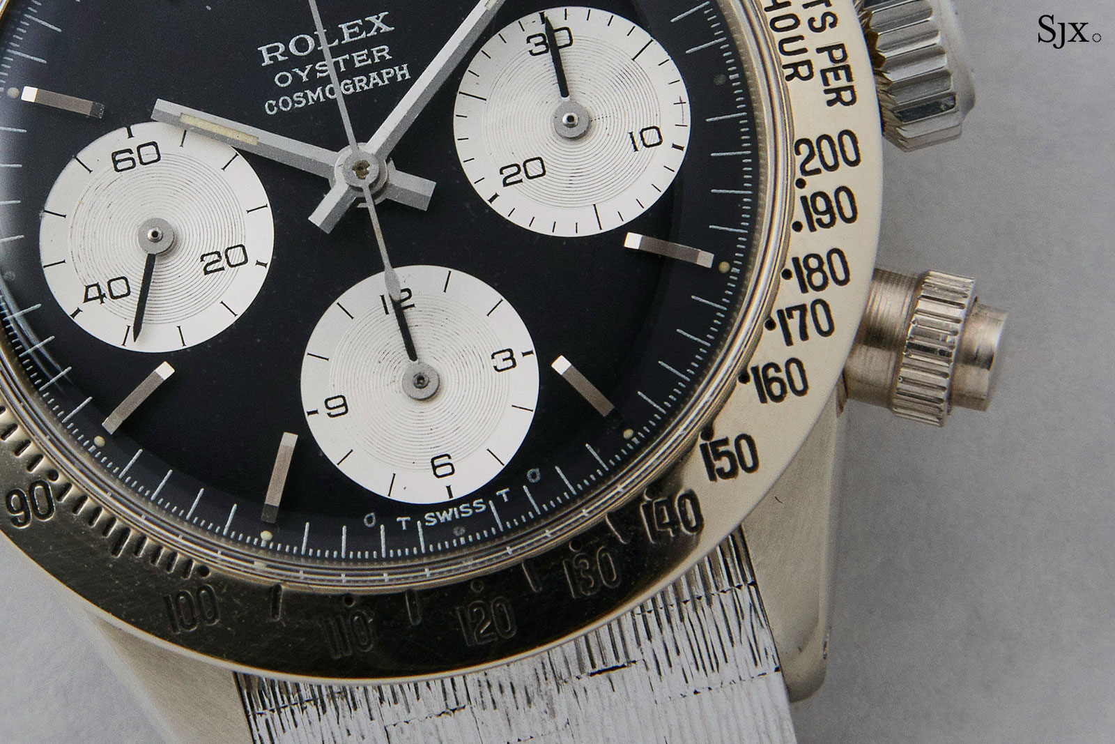 Rolex Daytona 6265 white gold Unicorn 1