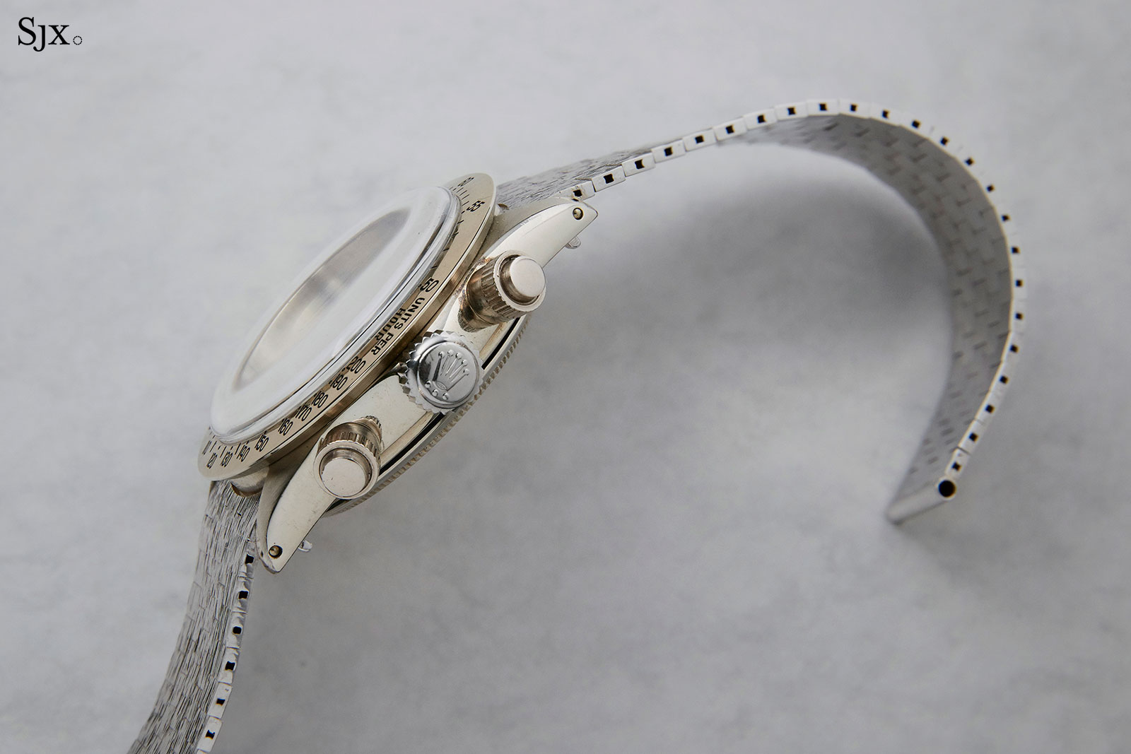 Rolex Daytona 6265 white gold Unicorn 7