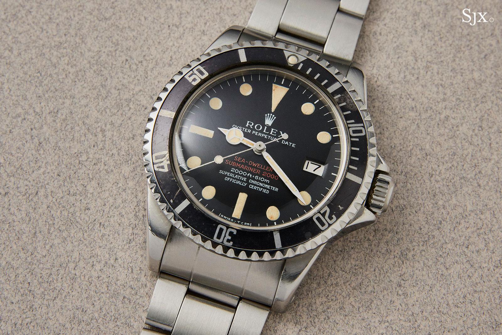 Rolex Sea-Dweller 1665 no escape valve 1