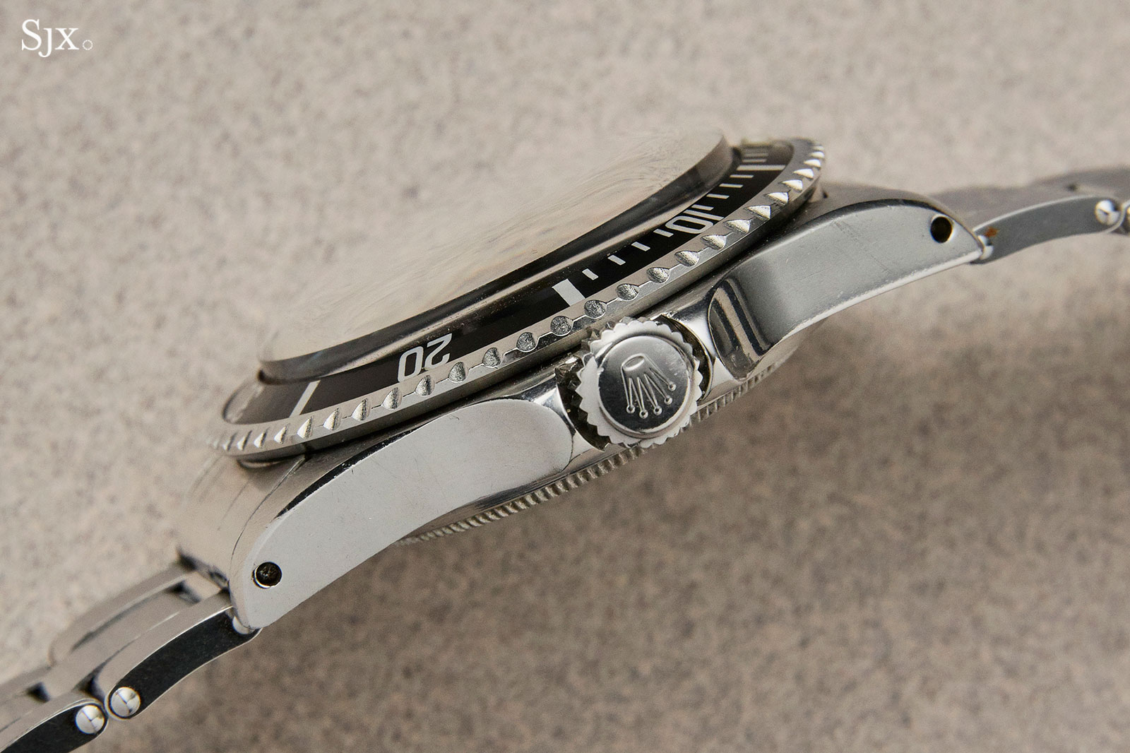 Rolex Submariner 5513 glossy dial 5
