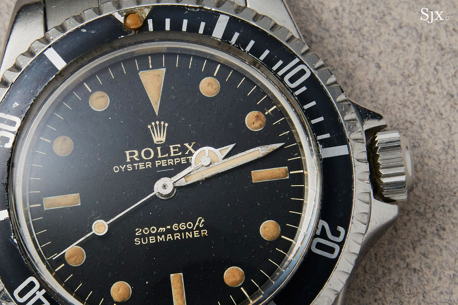 Rolex Submariner 5513 underline 1