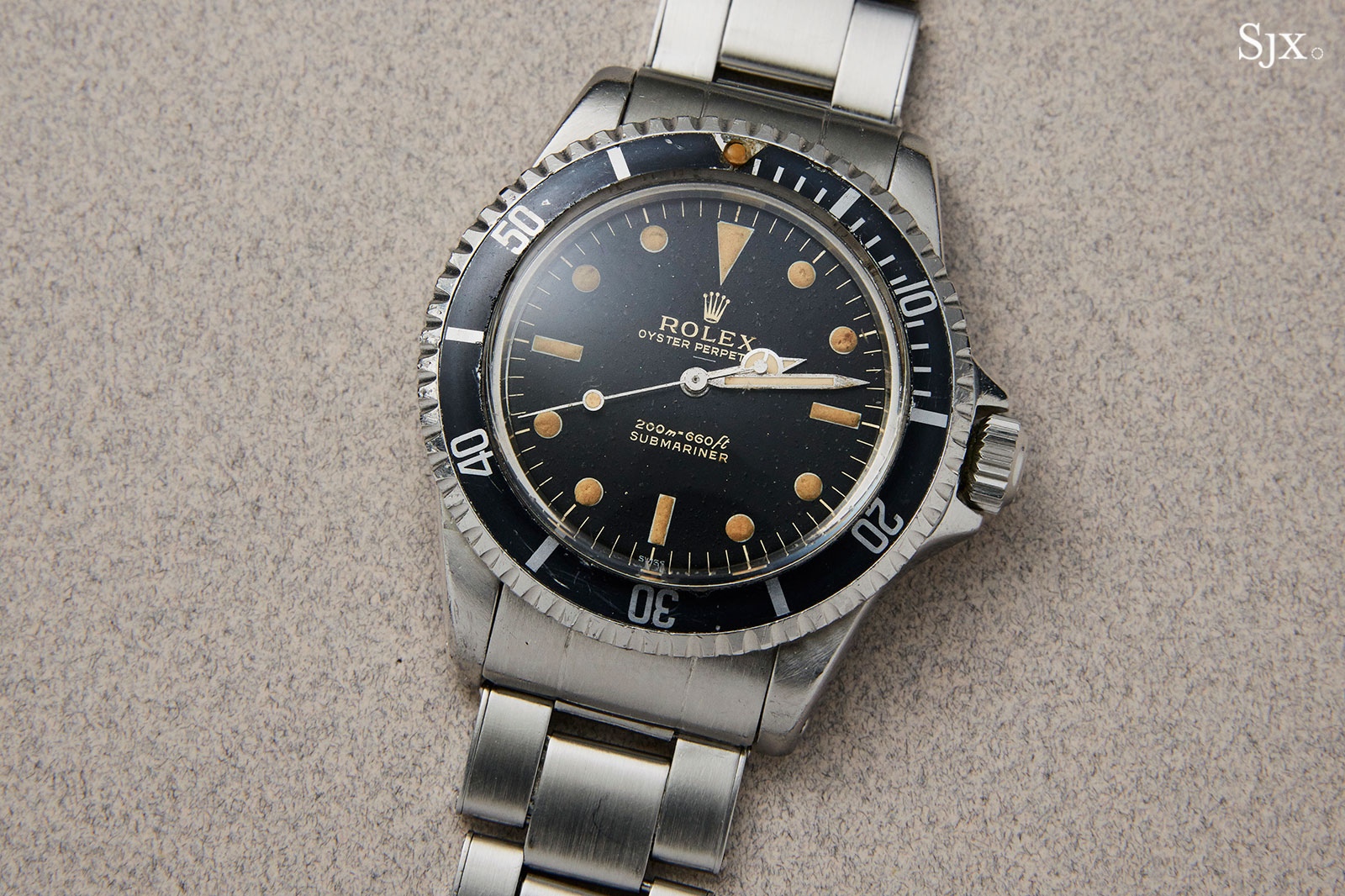 Rolex Submariner 5513 underline 2