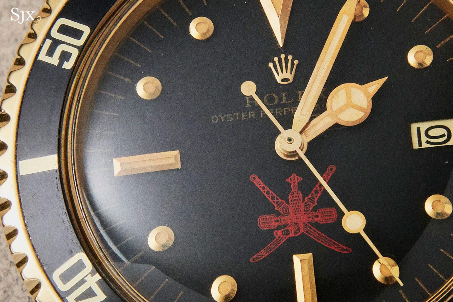 Rolex Submariner gold 1680 red khanjar 1