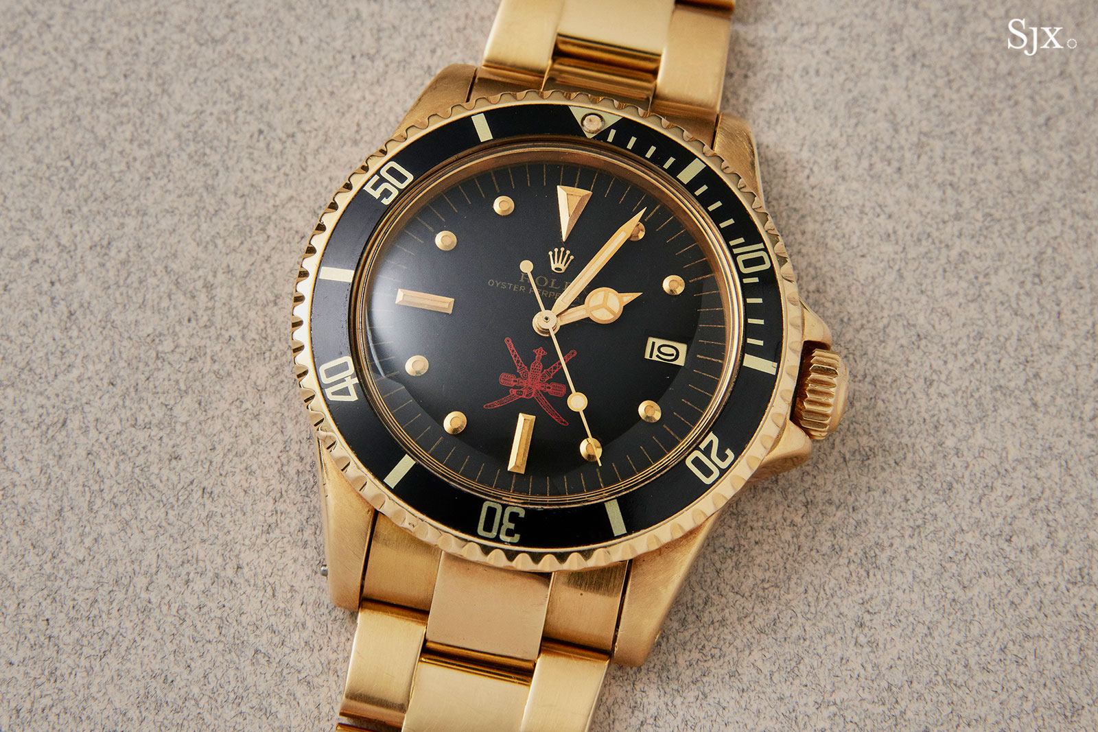 Rolex Submariner gold 1680 red khanjar 2