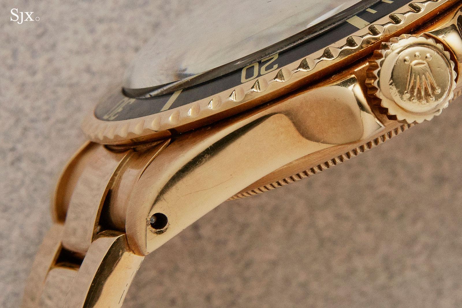 Rolex Submariner gold 1680 red khanjar 4