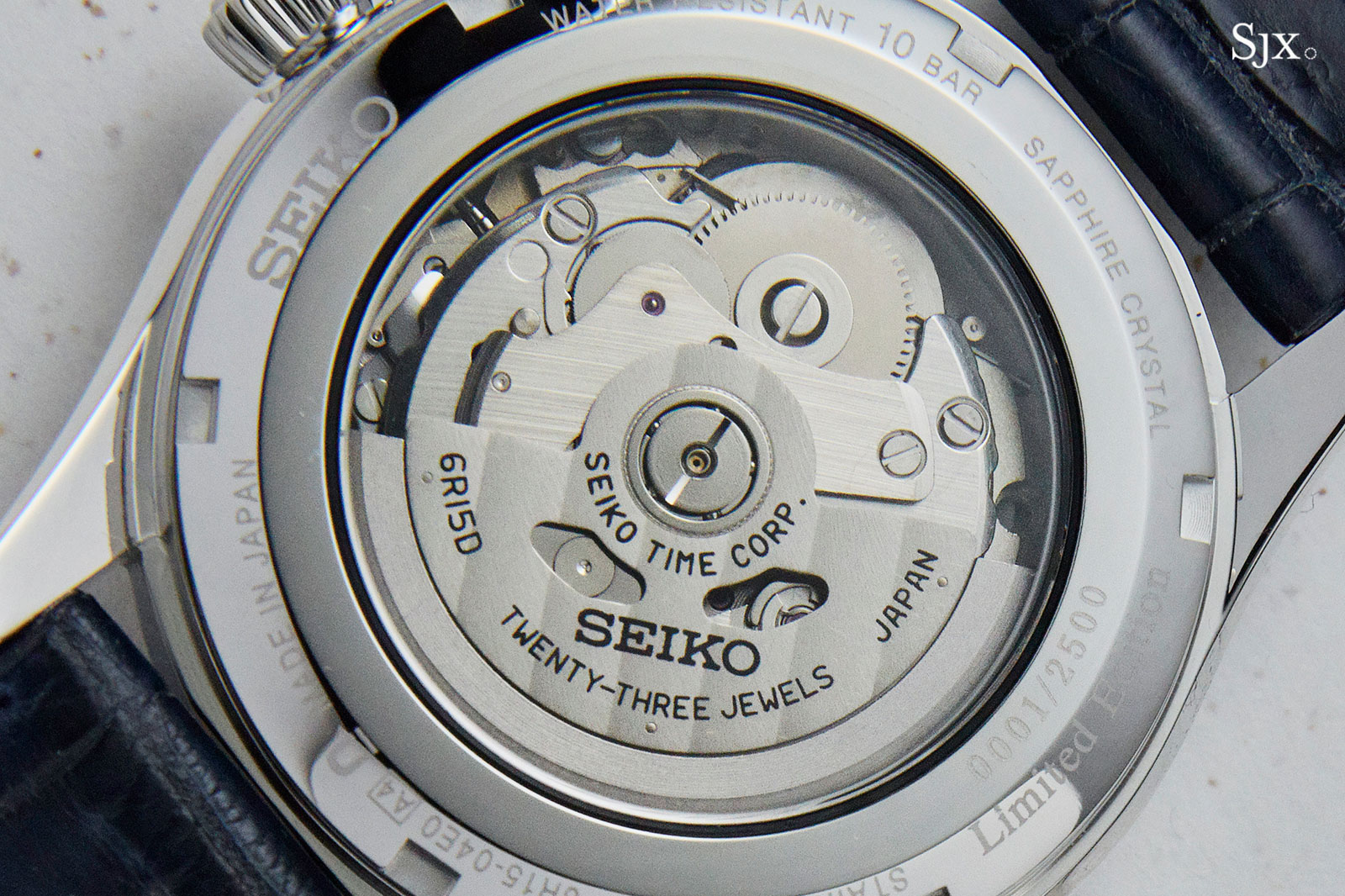 Seiko Presage Shippo Enamel blue 4