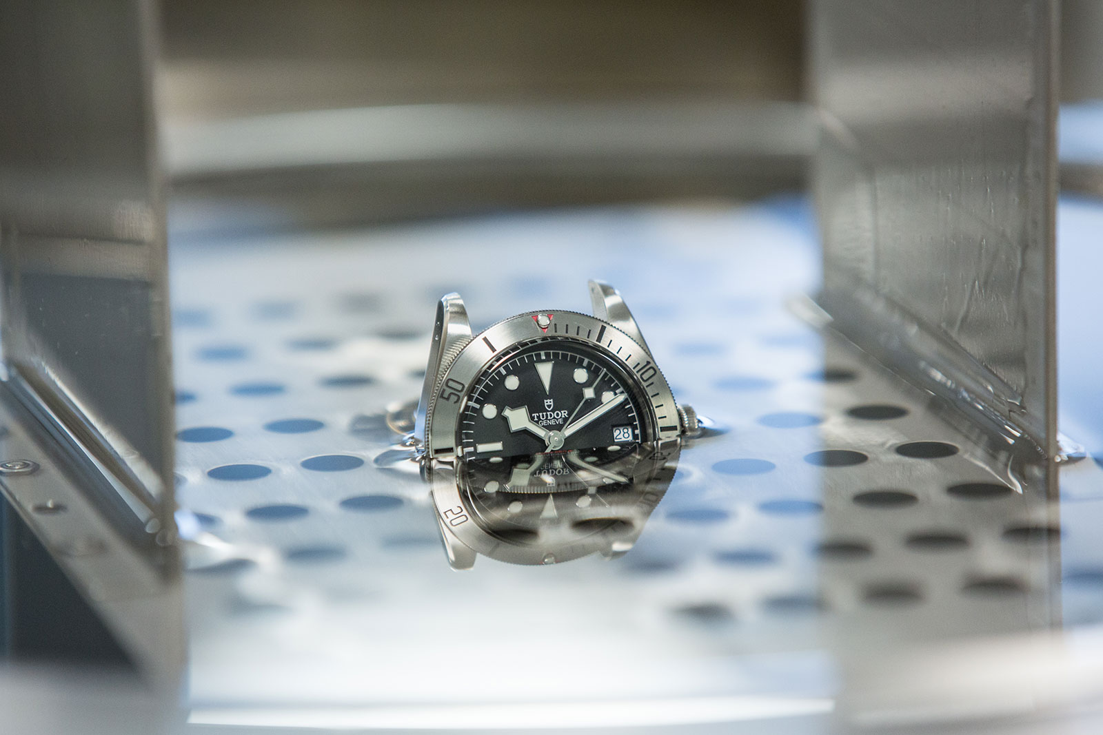 Tudor Black Bay Steel water testing