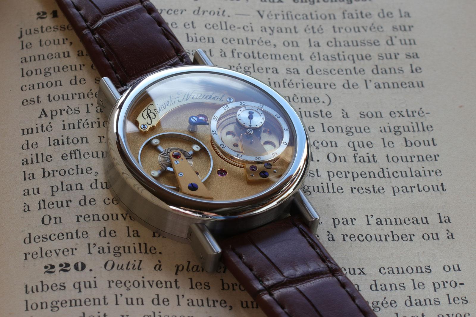 Brivet-Naudot wristwatch 1