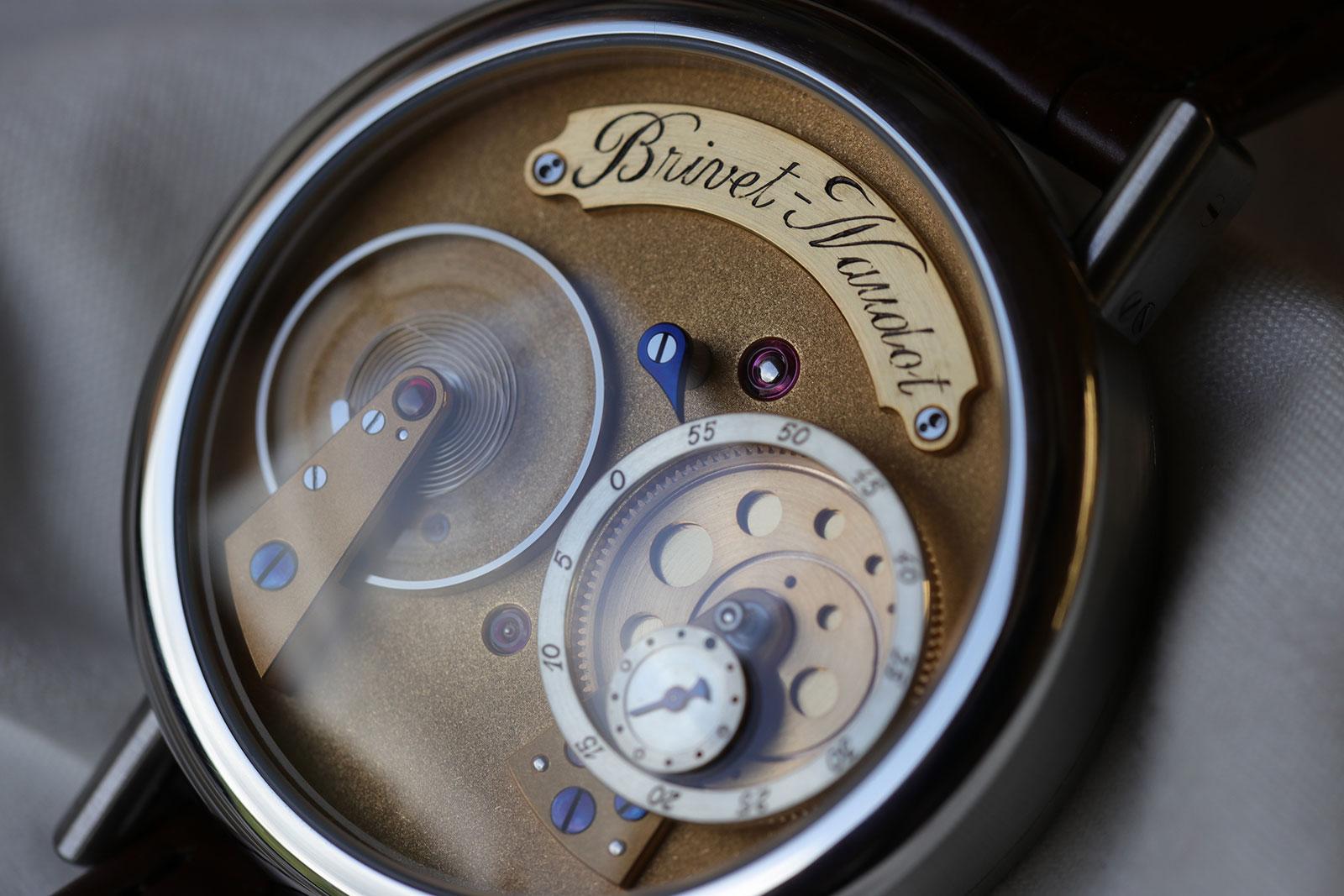 Brivet-Naudot wristwatch 5