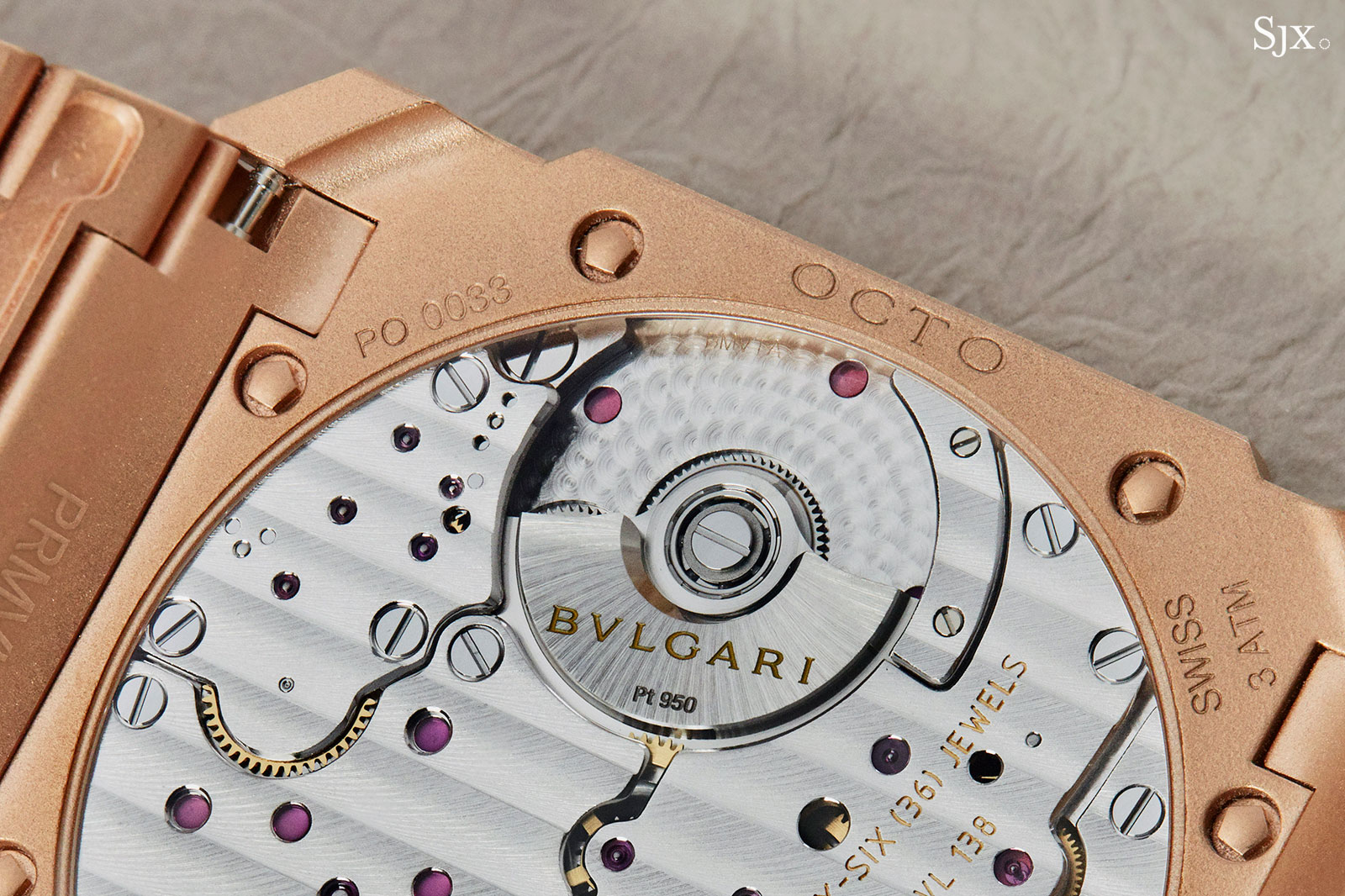 Bulgari Octo Finissimo Automatic rose gold 3