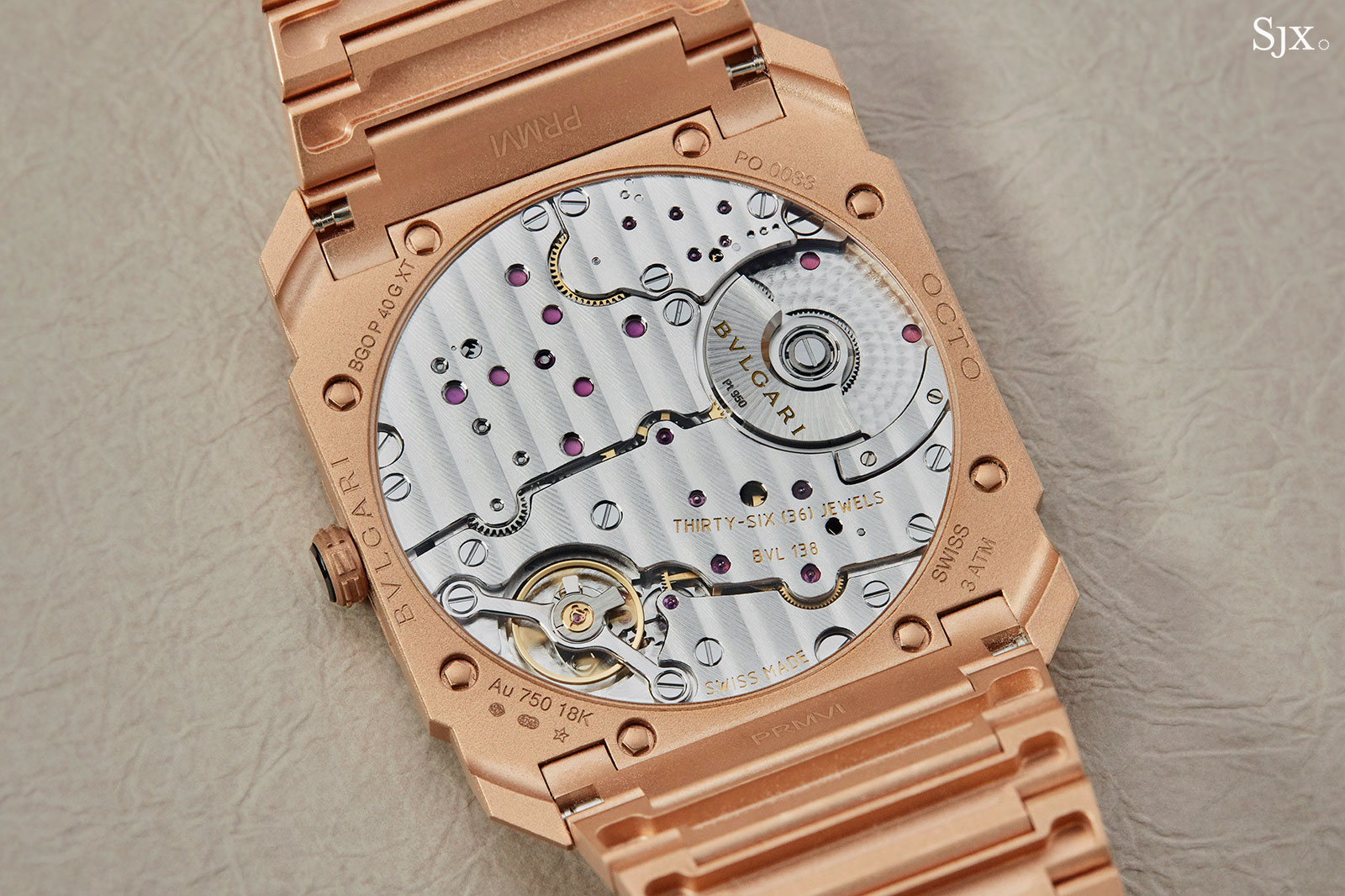 Bulgari Octo Finissimo Automatic rose gold 6