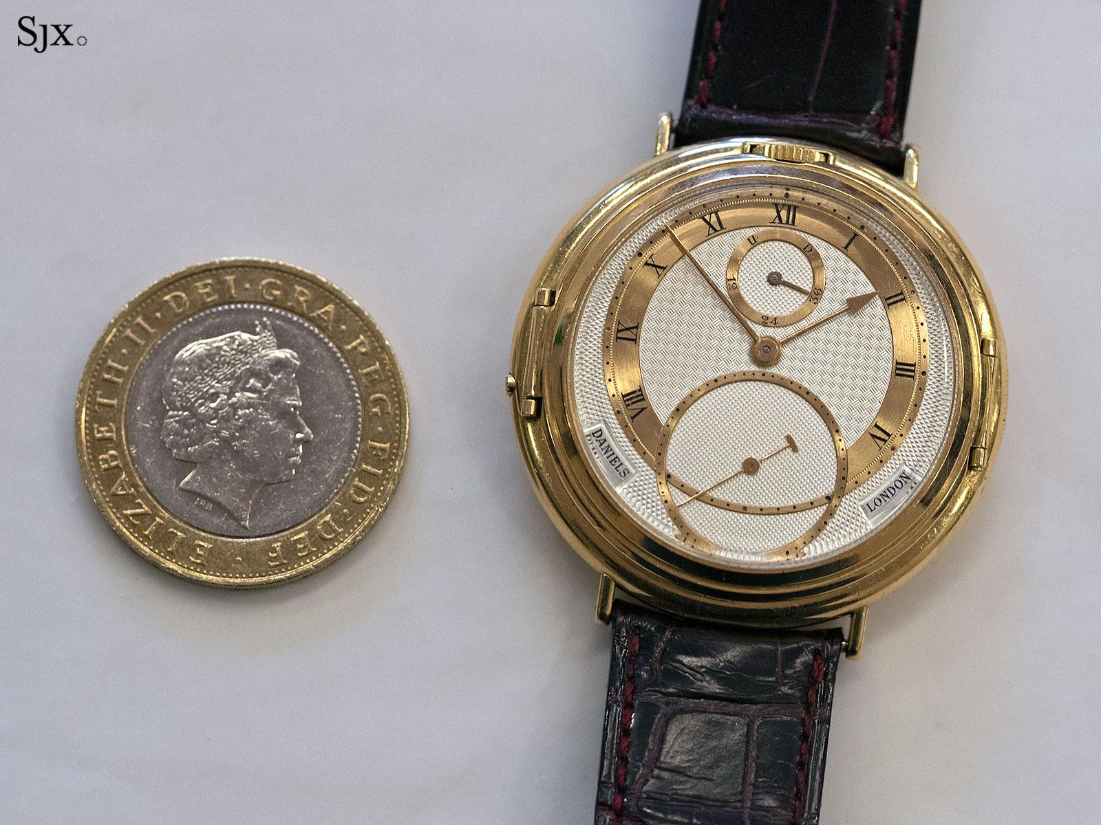 George Daniels Spring Case Tourbillon Wristwatch 1