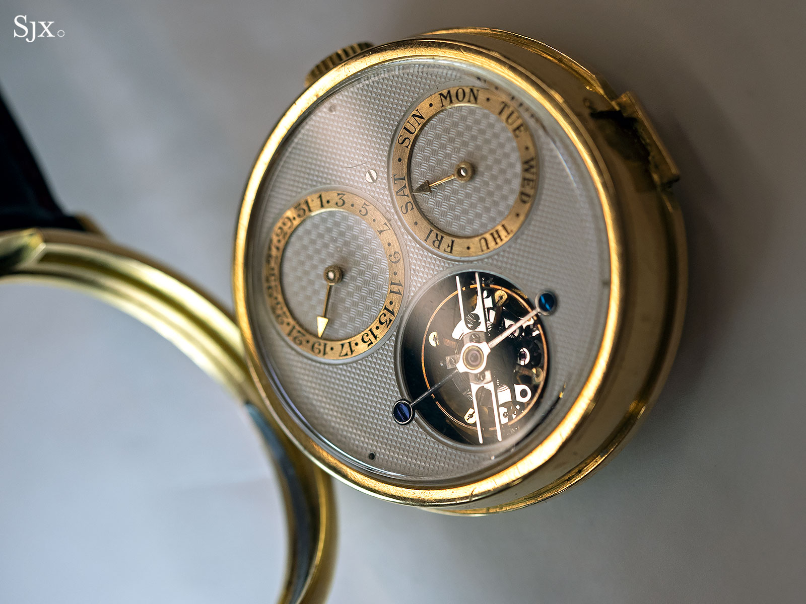 George Daniels Spring Case Tourbillon Wristwatch 12