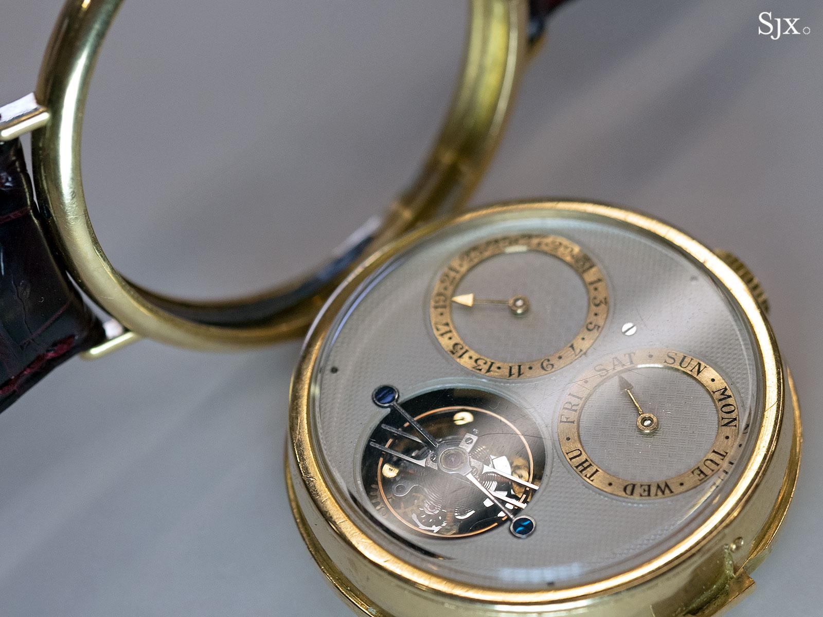 George Daniels Spring Case Tourbillon Wristwatch 14