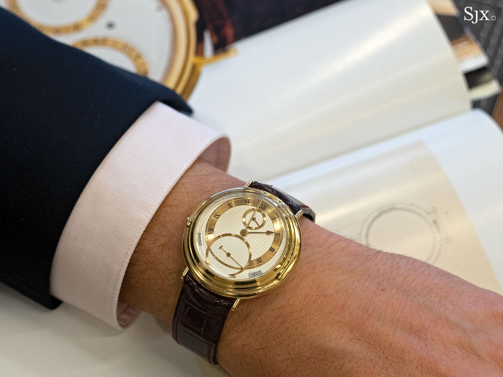 George Daniels Spring Case Tourbillon Wristwatch 15
