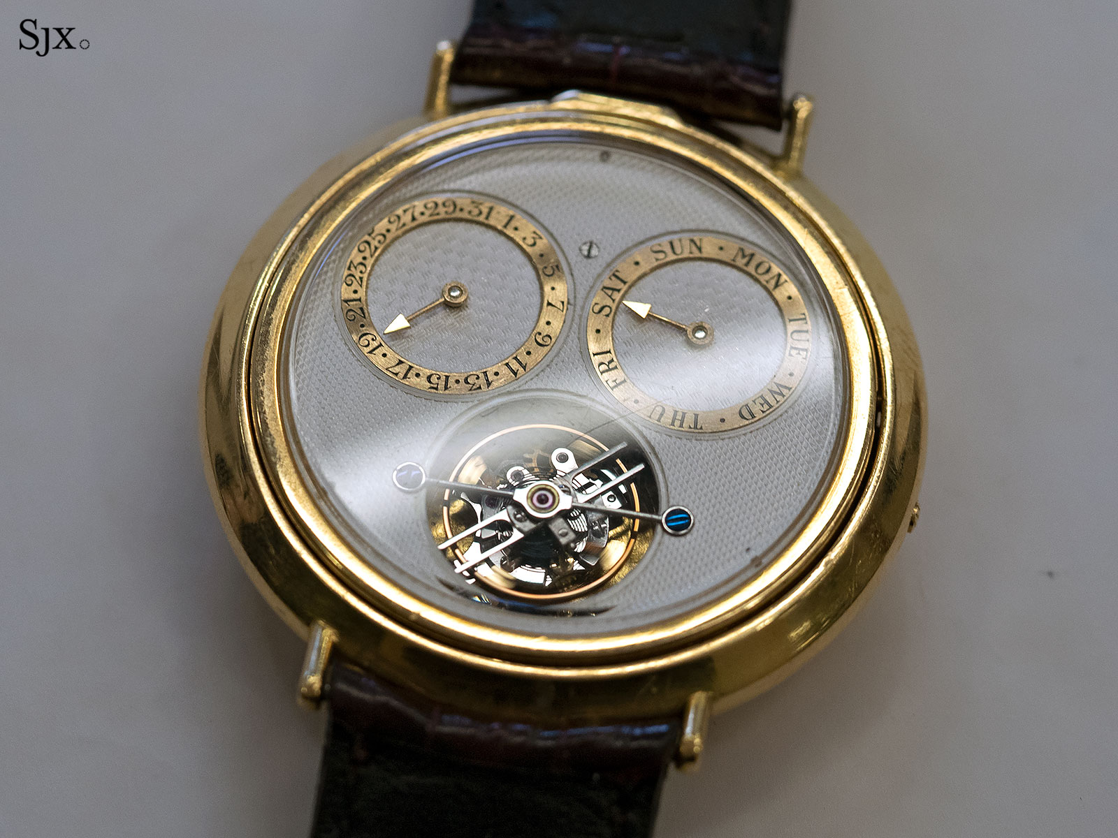 George Daniels Spring Case Tourbillon Wristwatch 8