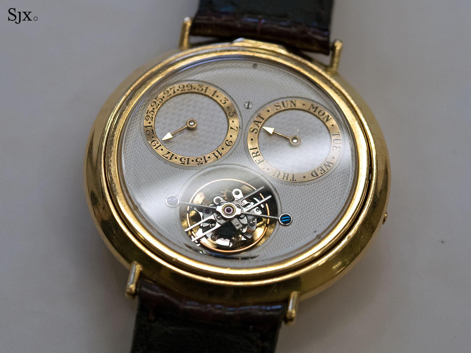 George Daniels Spring Case Tourbillon Wristwatch 8