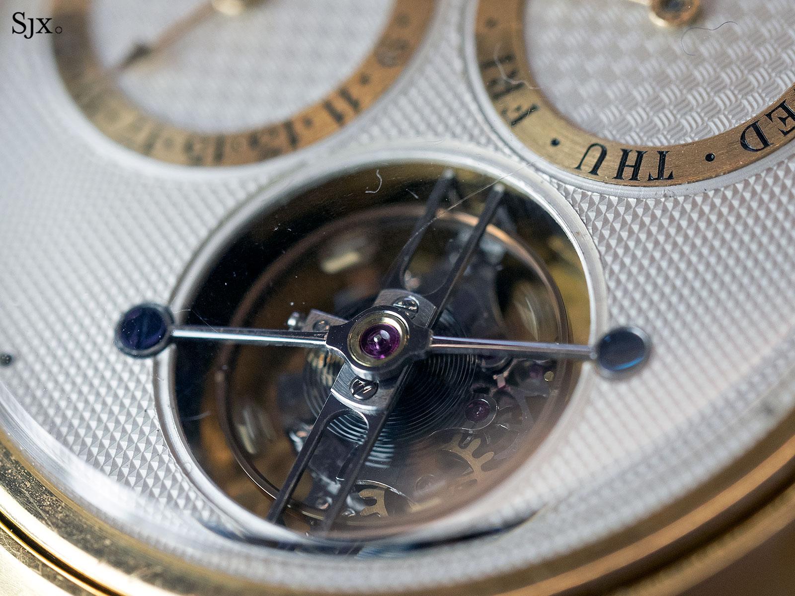 George Daniels Spring Case Tourbillon Wristwatch 9