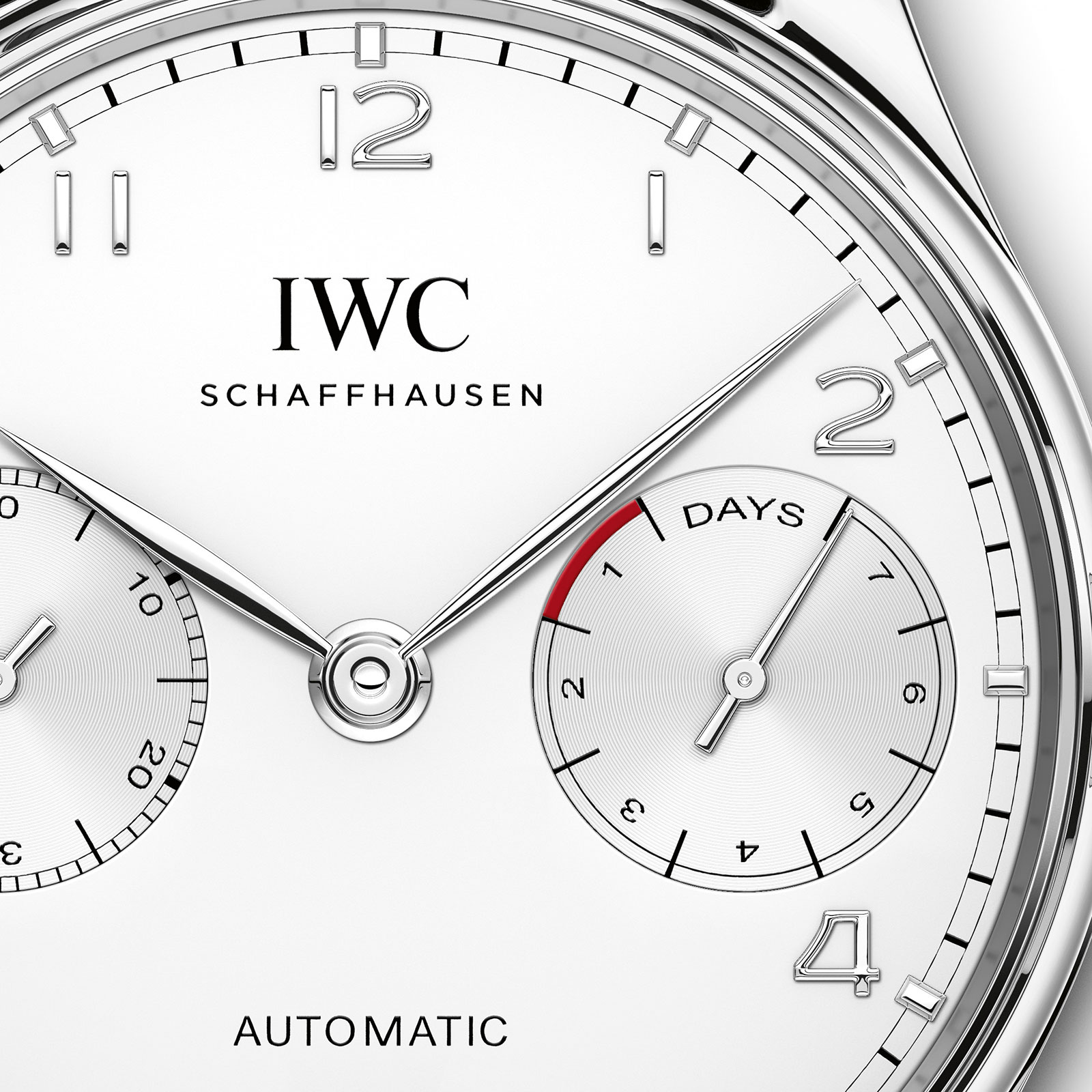IWC Portugieser Automatic steel silver dial IW500712-1