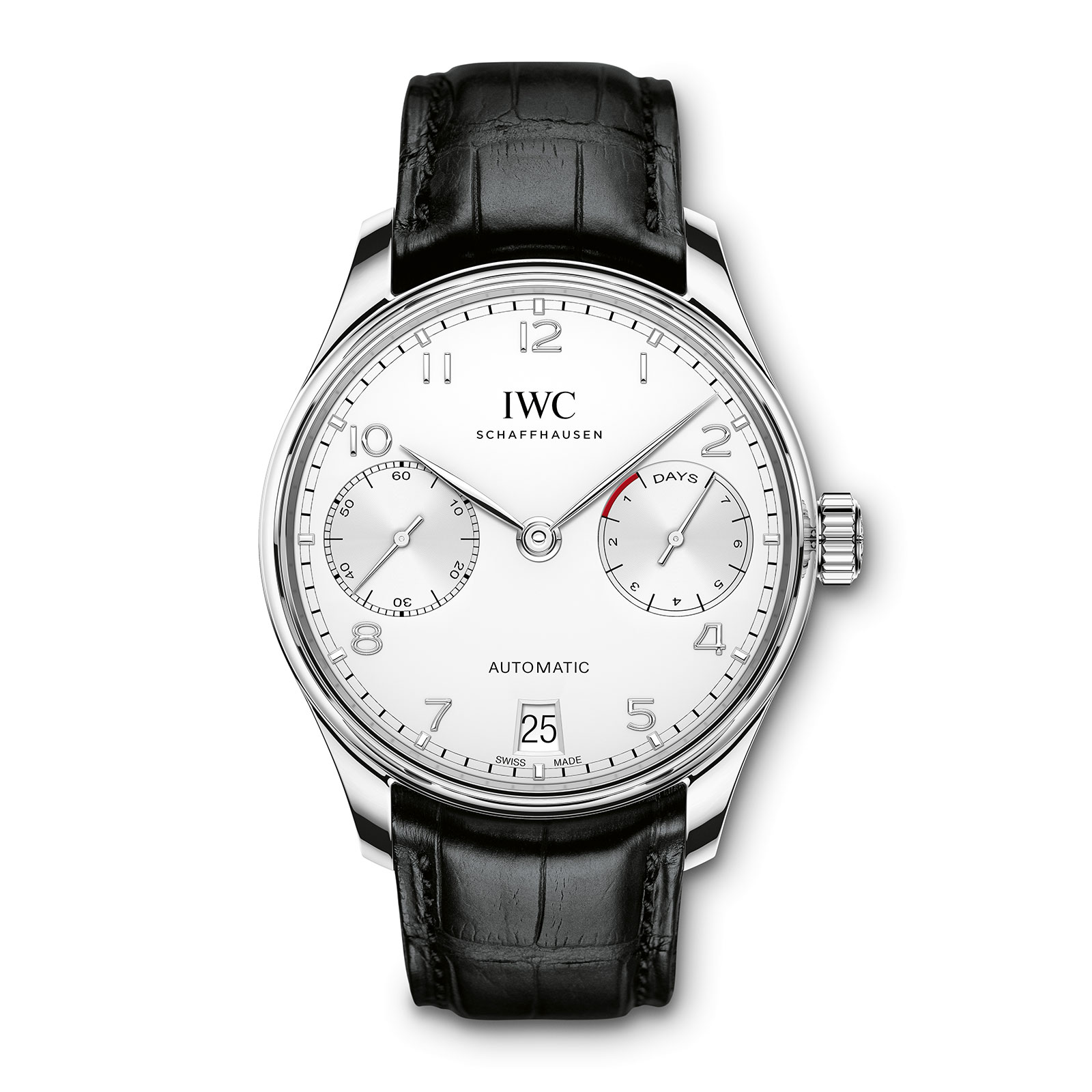 IWC Portugieser Automatic steel silver dial IW500712-3