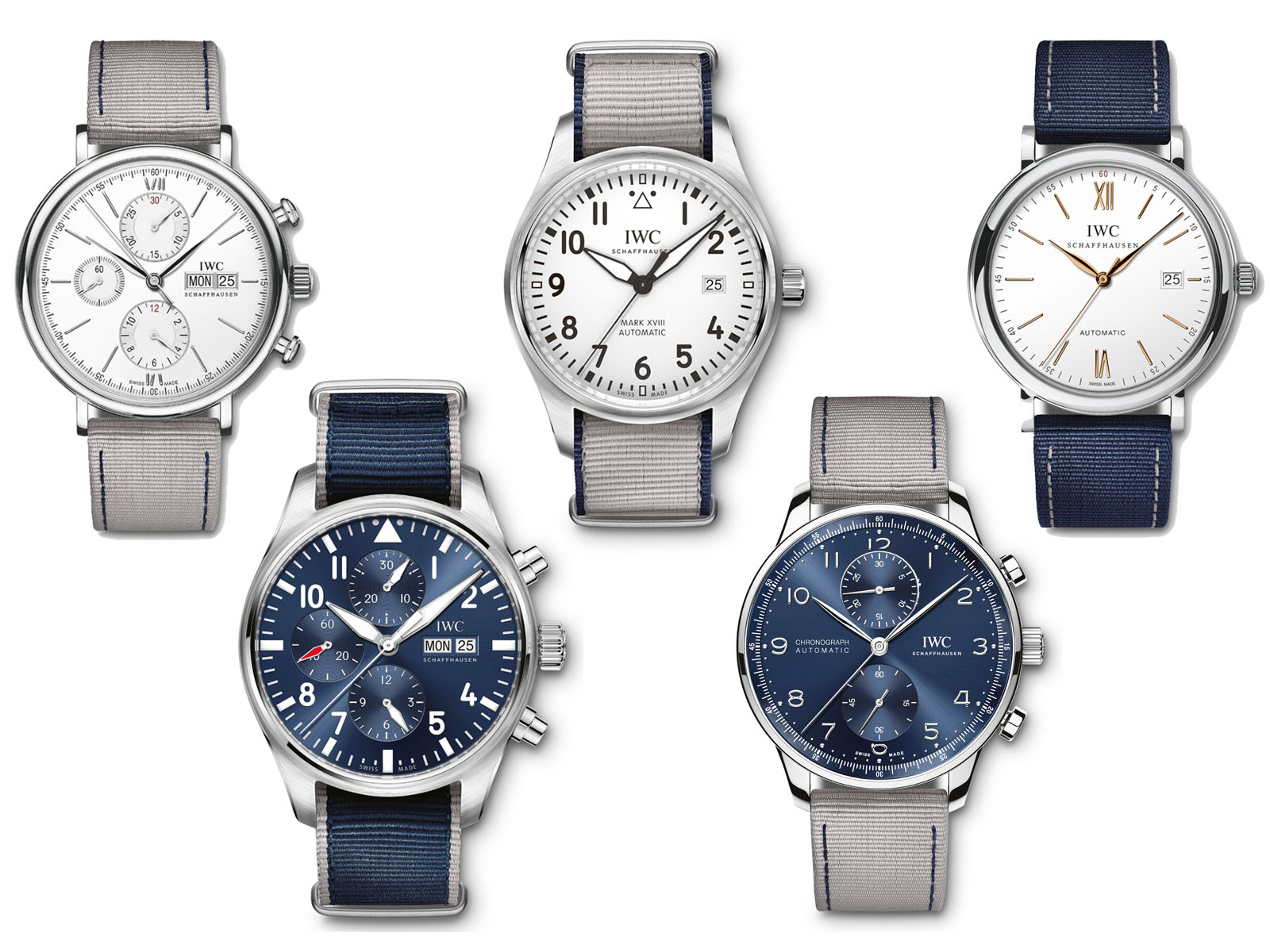 IWC Summer Edition Straps