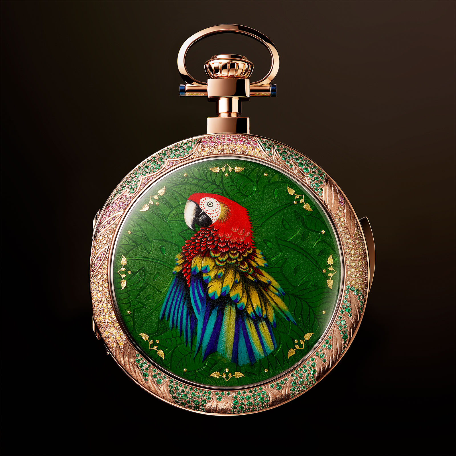 Jaquet Droz Parrot Repeater Pocket Watch 2