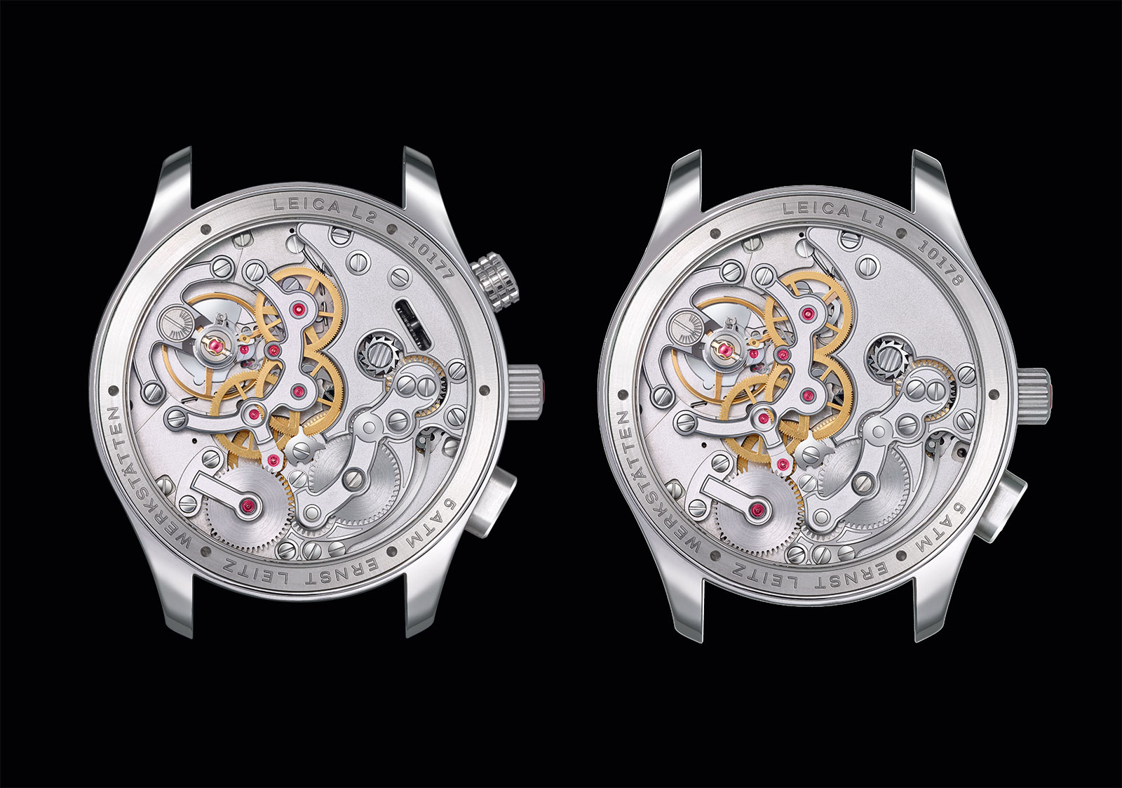 Leica L1 and L2 watch movement