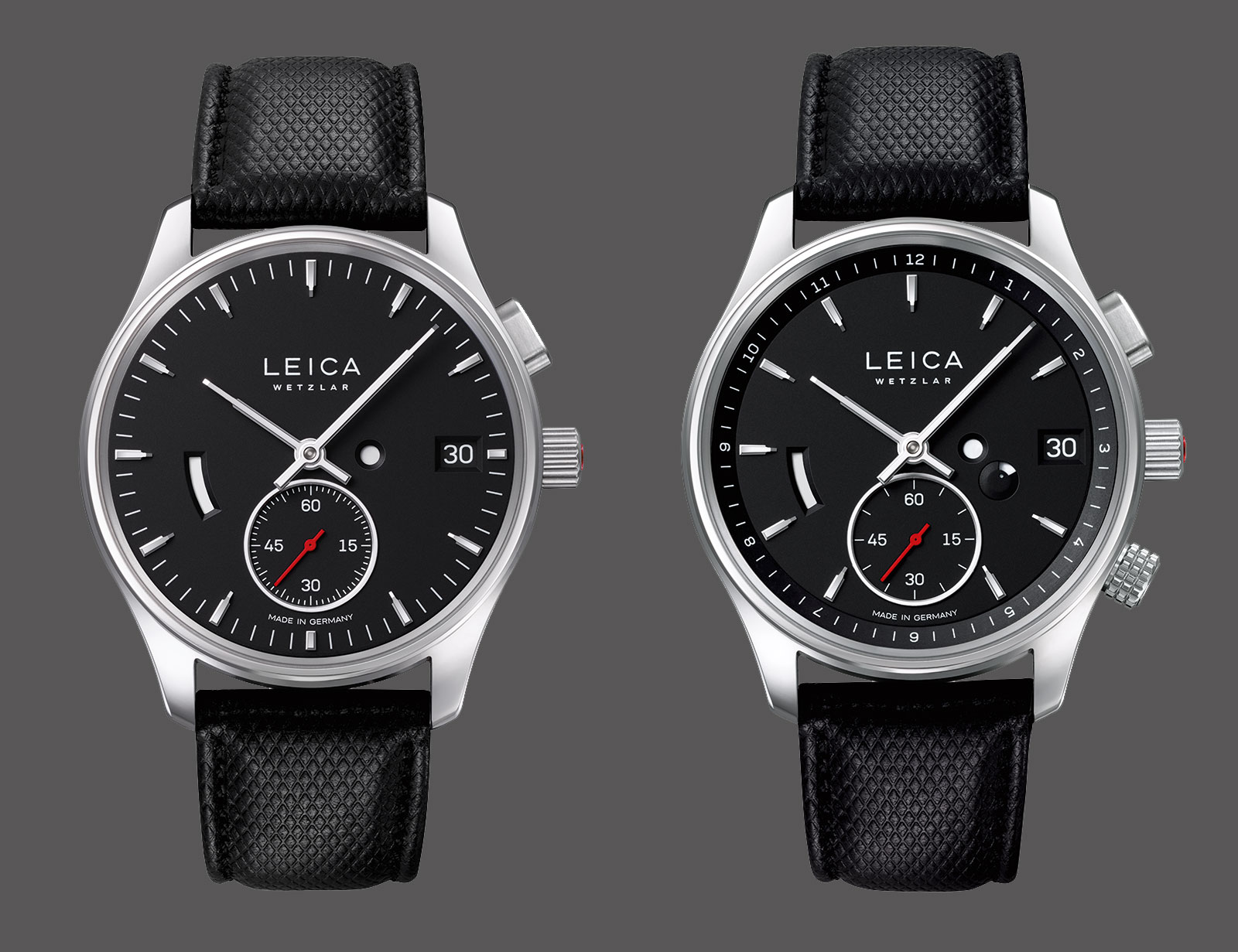 leica introduces the l1 and l2 watches sjx watches