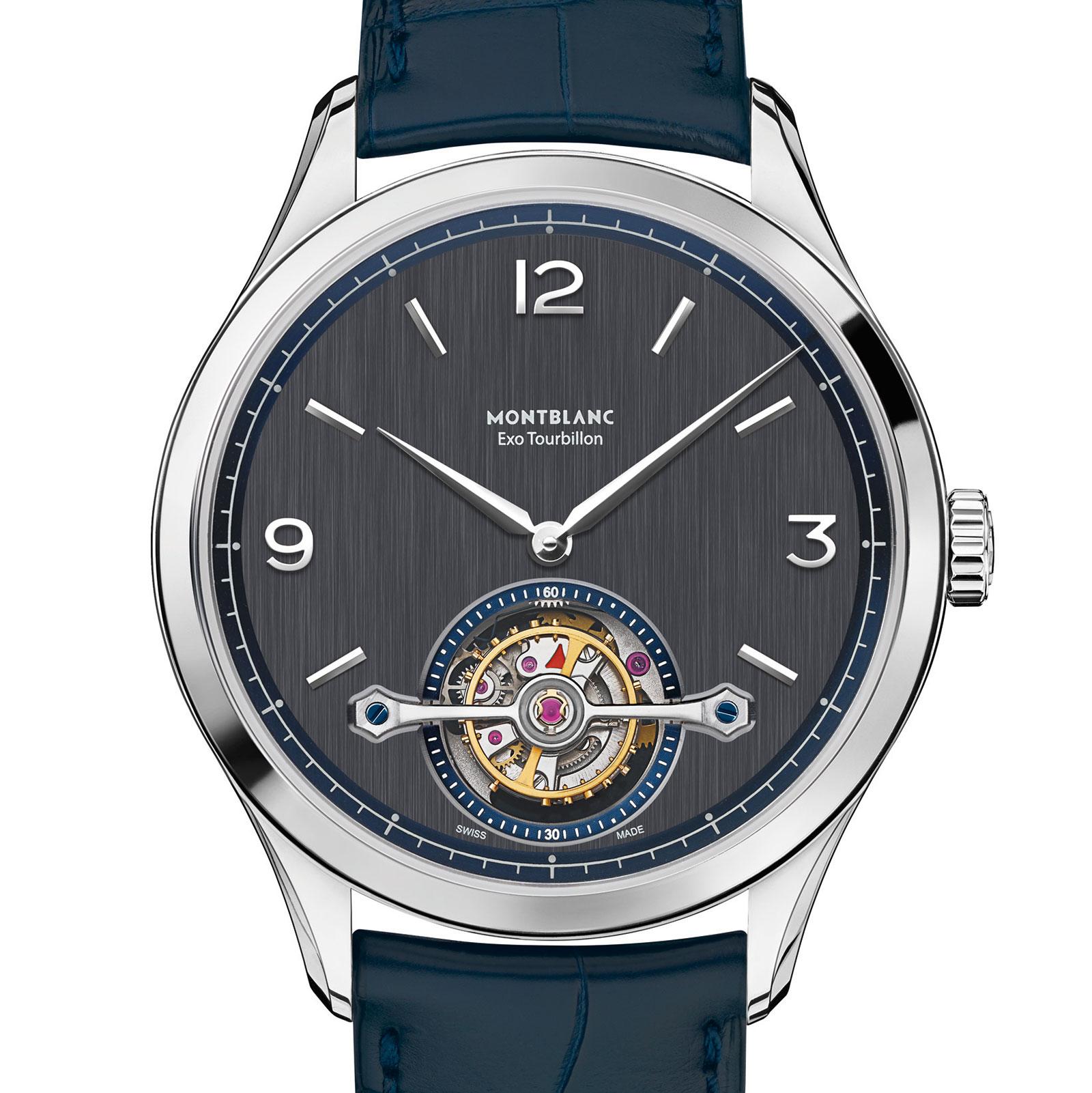 Montblanc Heritage Chronométrie Exo Tourbillon Slim 11847