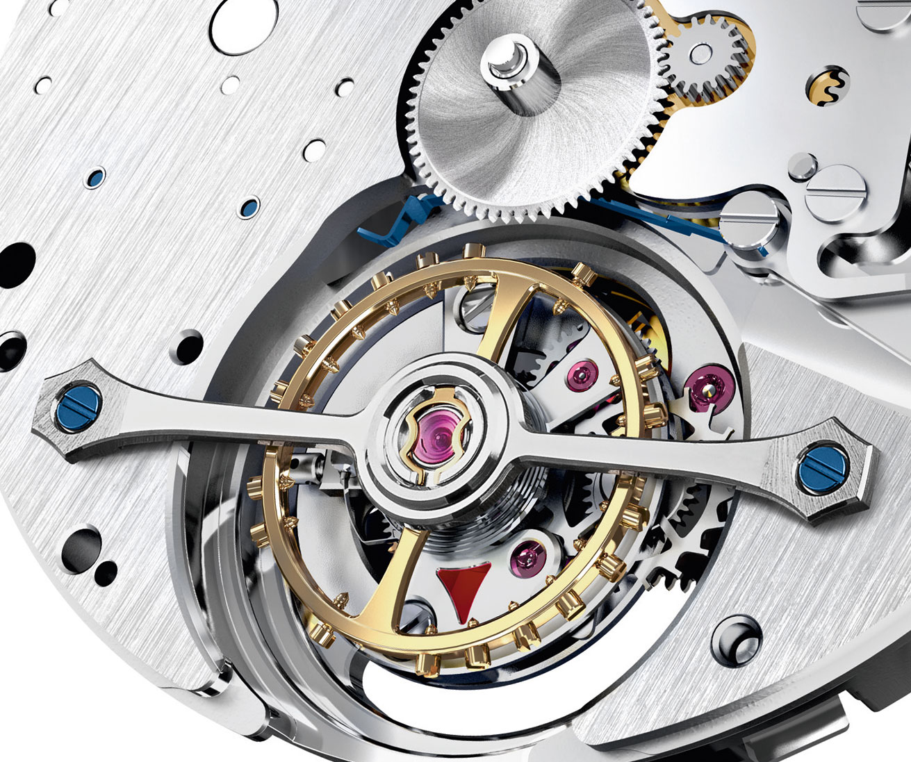Montblanc Heritage Chronométrie Exo Tourbillon movement