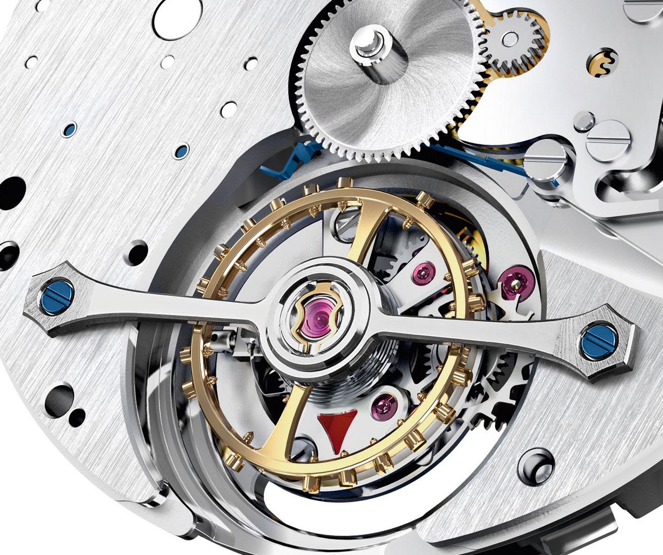 Montblanc Heritage Chronométrie Exo Tourbillon movement